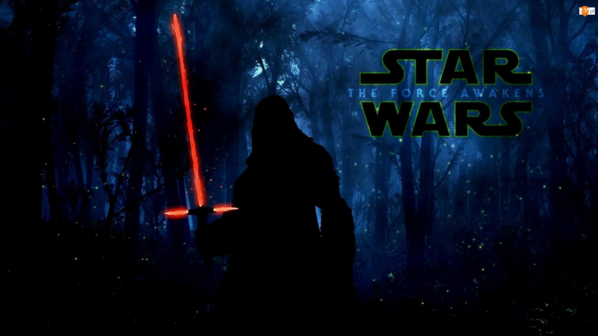 Gwiezdne wojny: Przebudzenie Mocy, Miecz, Star Wars: The Force Awakens Postać, Świecący