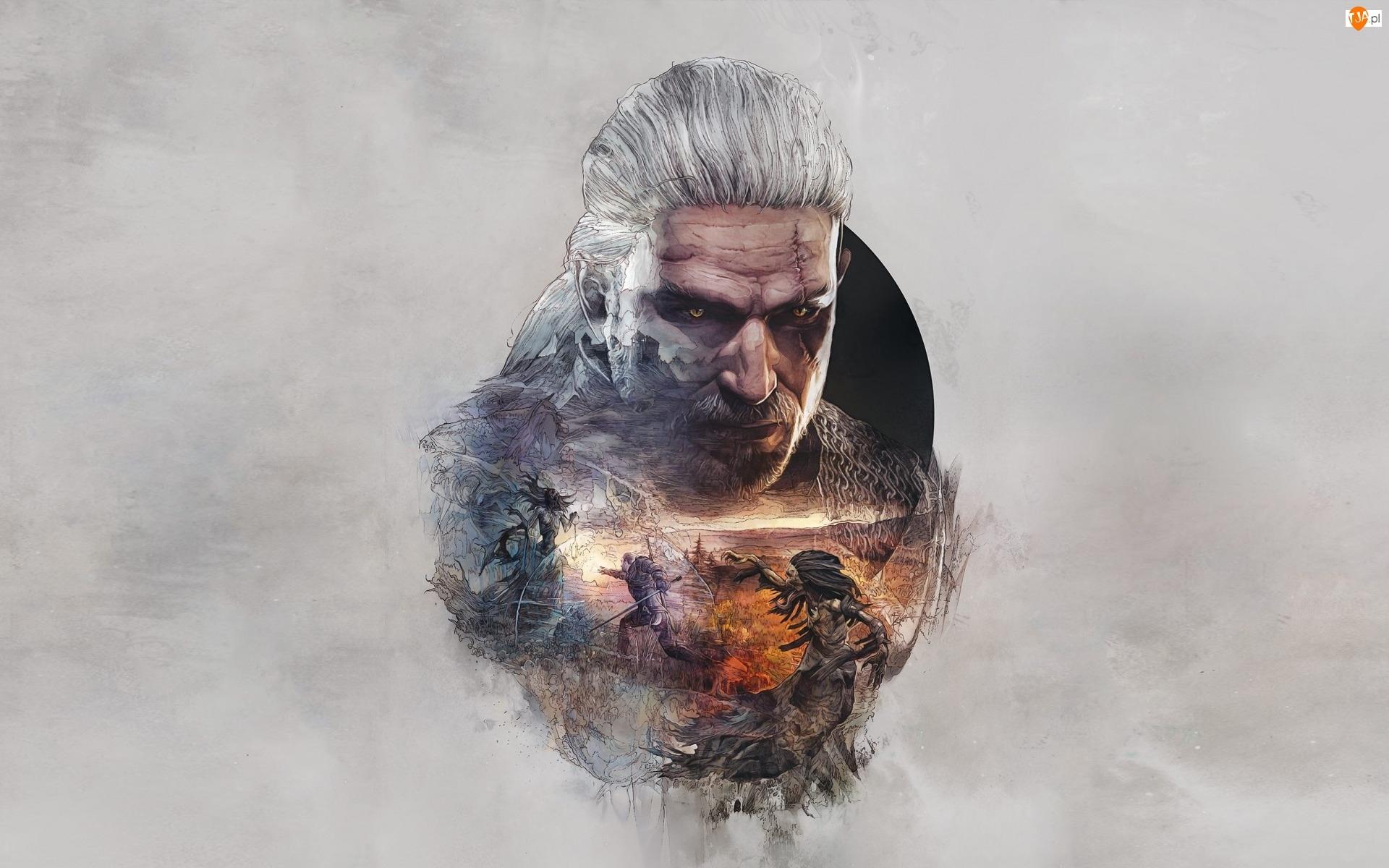 Wojownik, Geralt, Wiedżmin 3: Dziki Gon