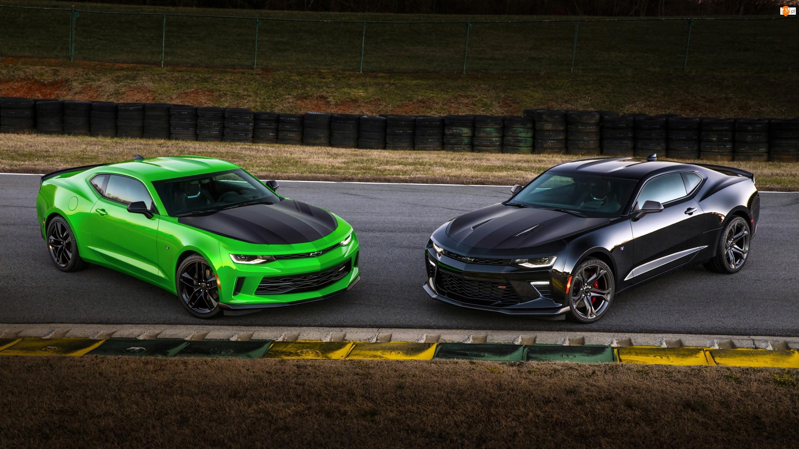 Dwa, 2017, Samochody, Chevrolet Camaro 1LE