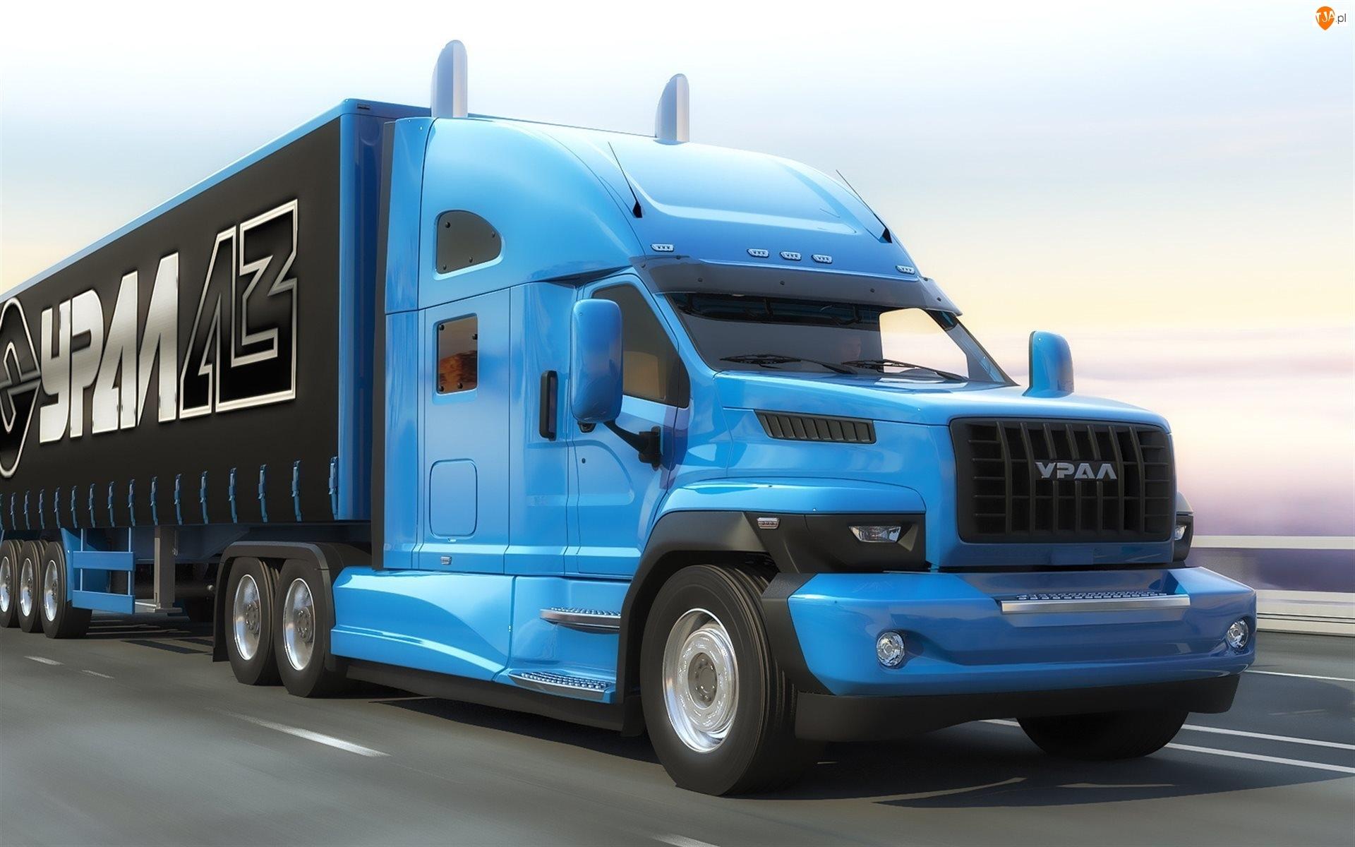 Ciężarówka Ural Next, 2015