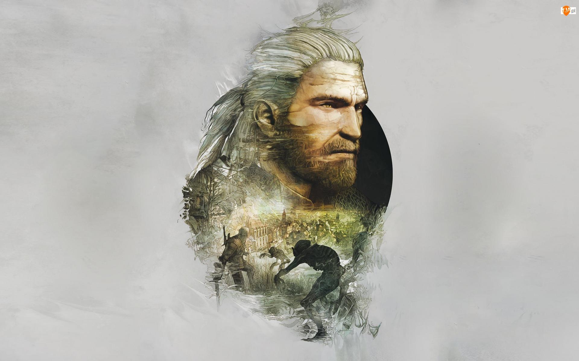 Geralt, Gra, Mężczyzna, Wiedźmin 3, Wojownik