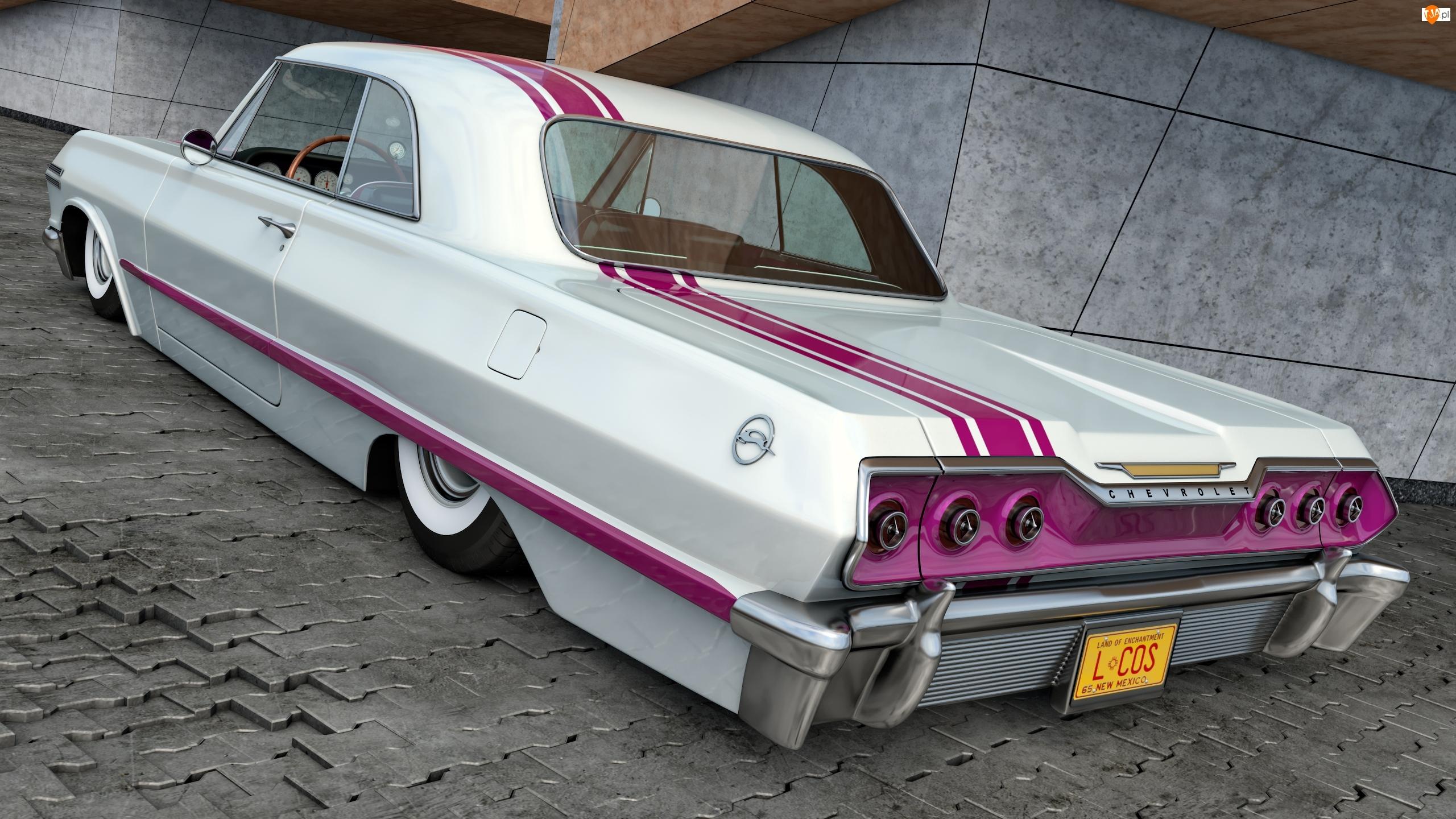 1963, Zabytkowy, Chevrolet Impala