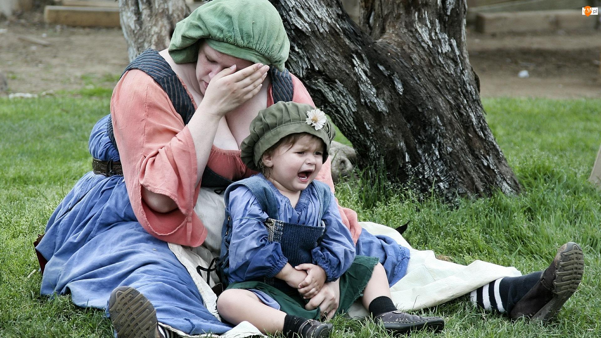 Dziecko, Kobieta, Zmęczenie