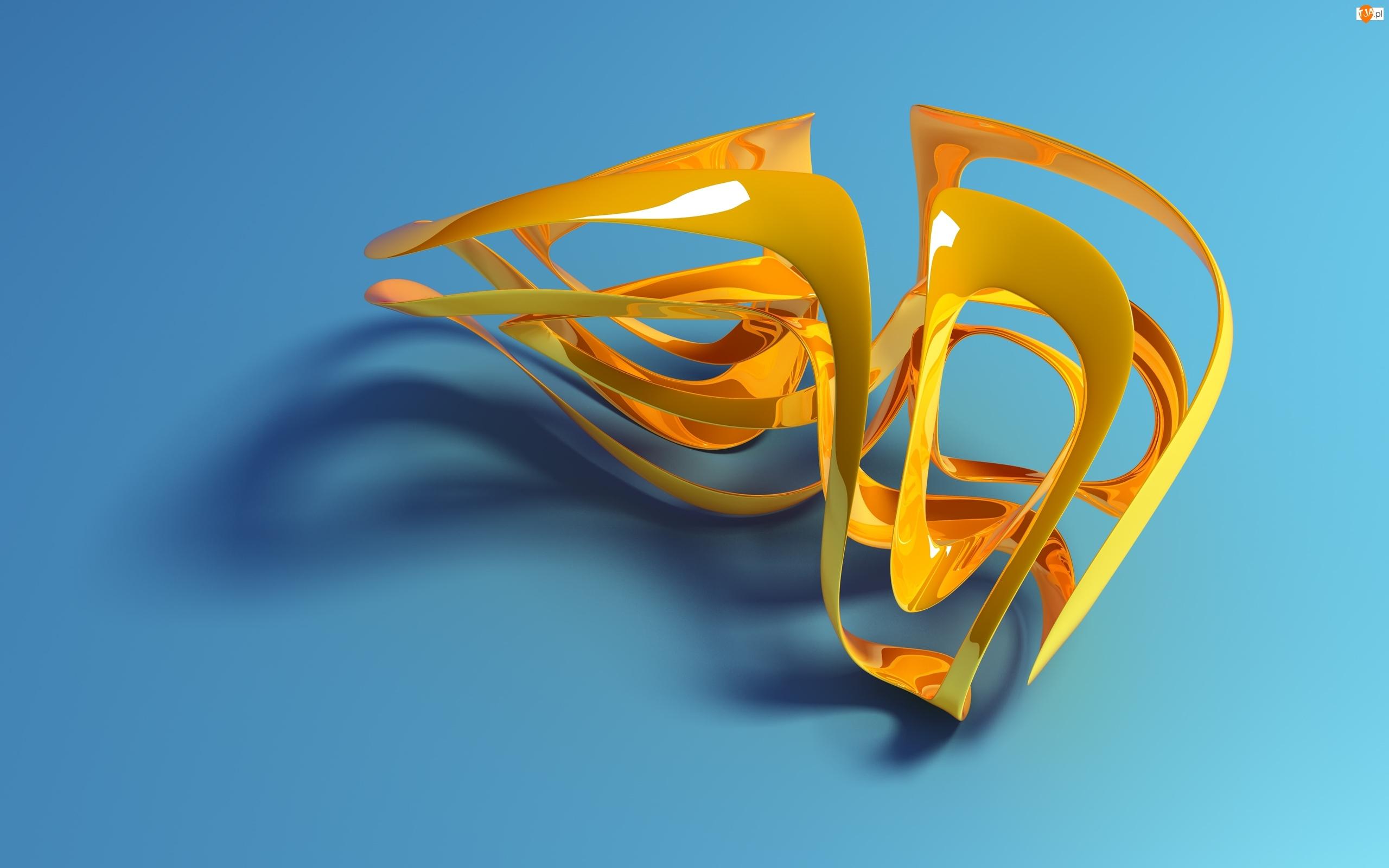 Obiekt, Grafika 3D, Żółty