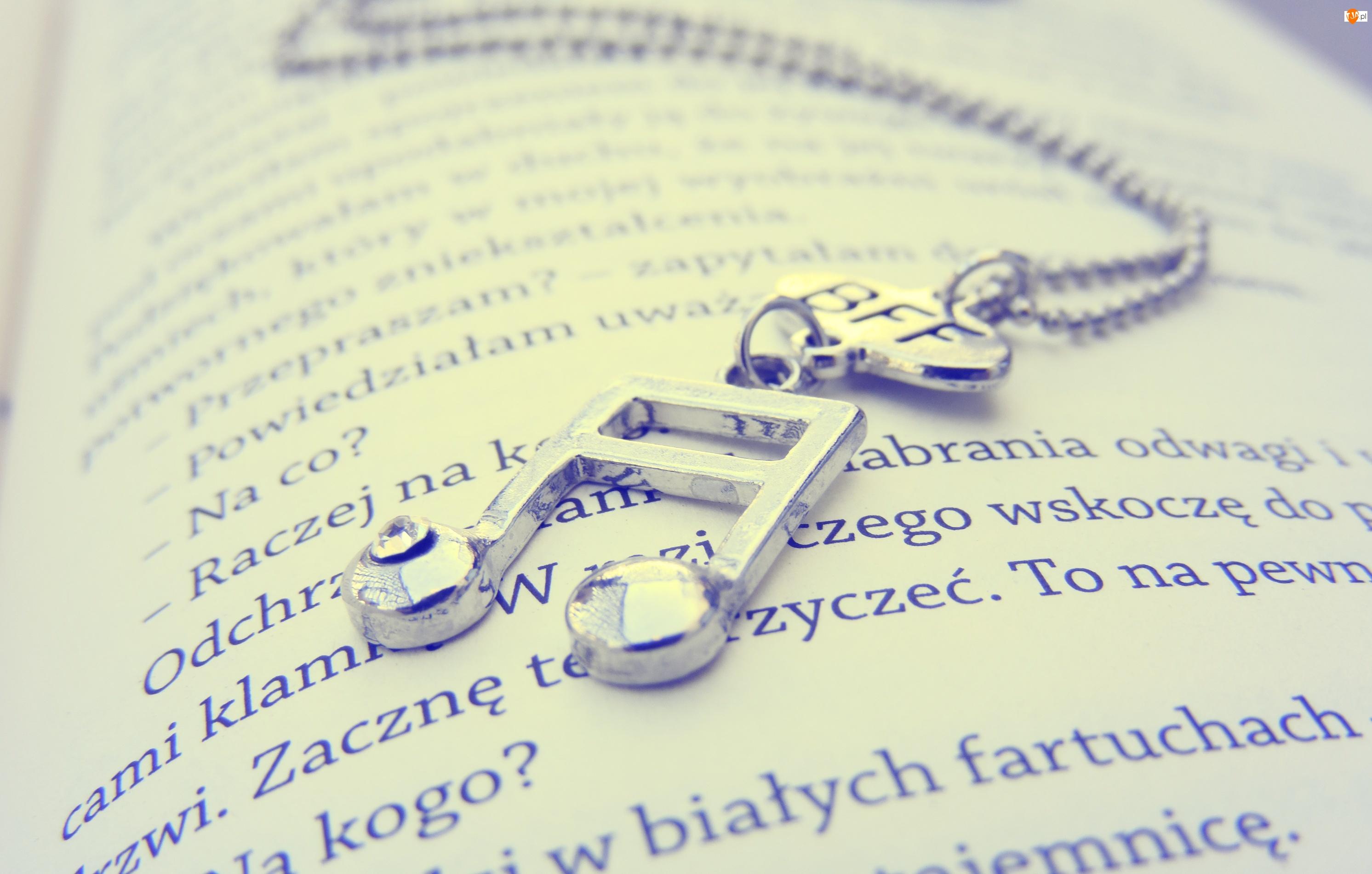 Książka, Nutka, Muzyka