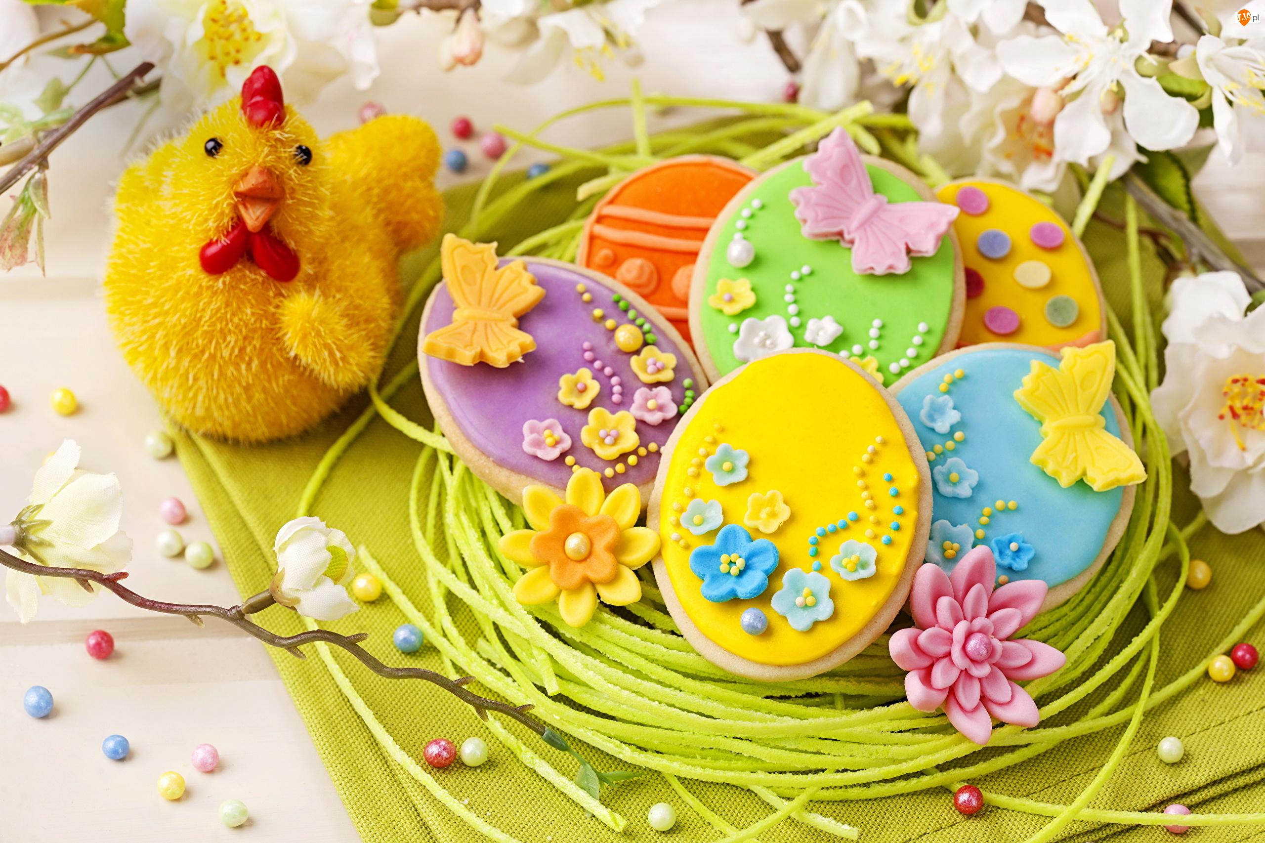 Wielkanoc, Mazurki, Dekoracja, Kurka