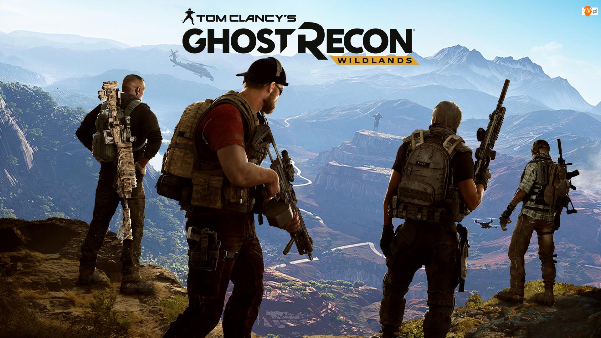 Tom Clancy's Ghost Recon Wildlands, Żołnierze, Góry, Broń