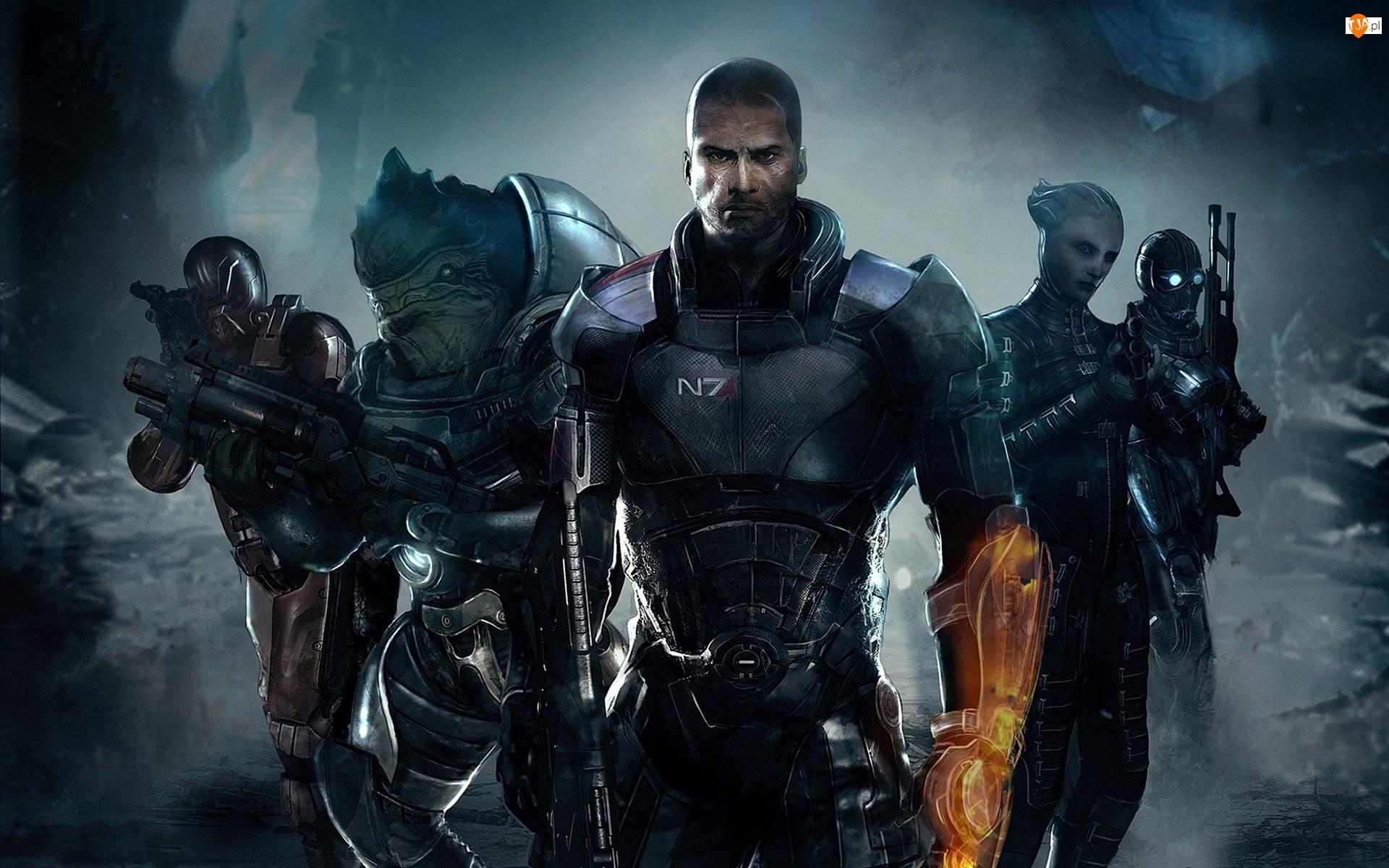 Komandor porucznik Shepard, Gra, Mass Effect