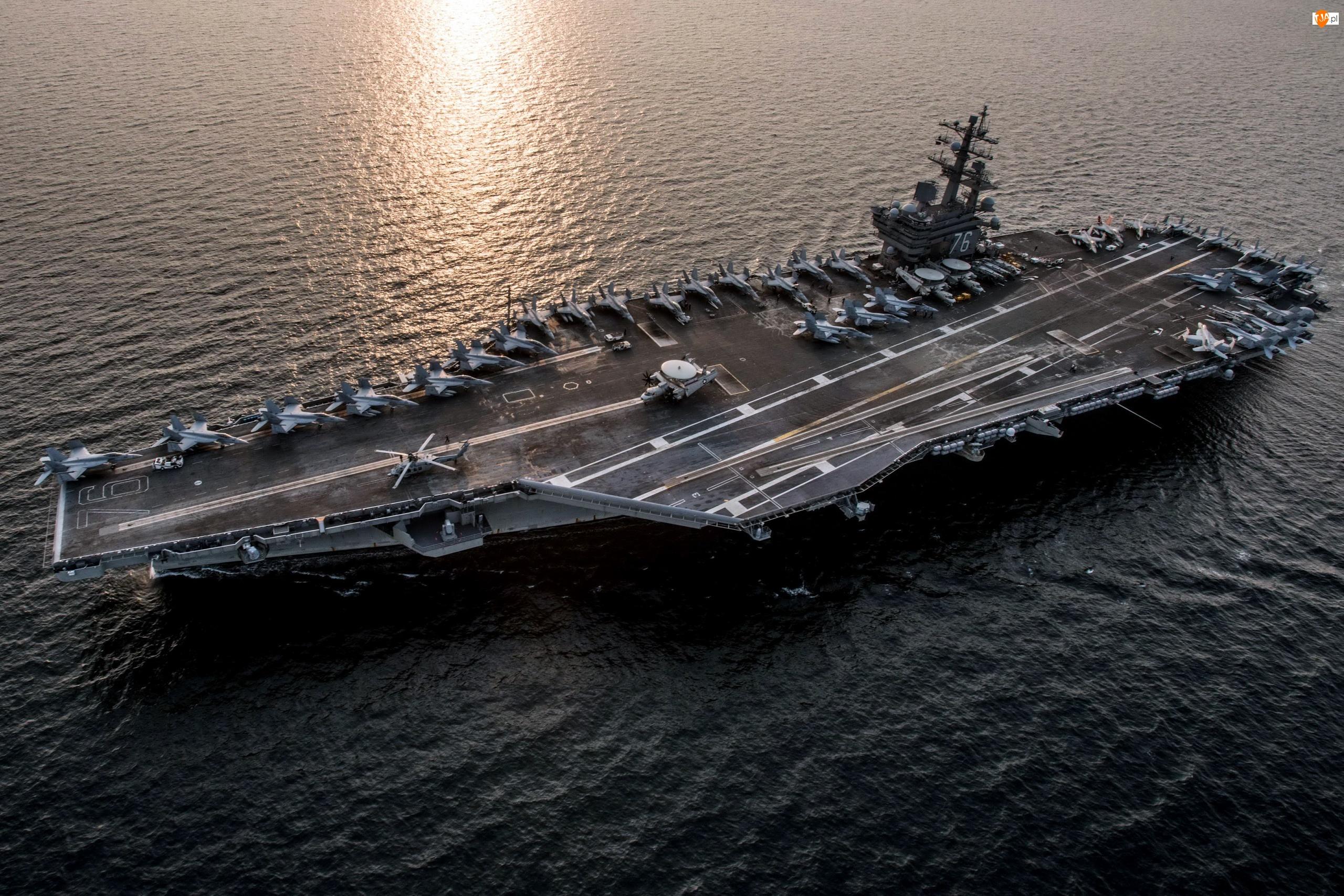 Lotniskowiec, USS Ronald Reagan (CVN 76)