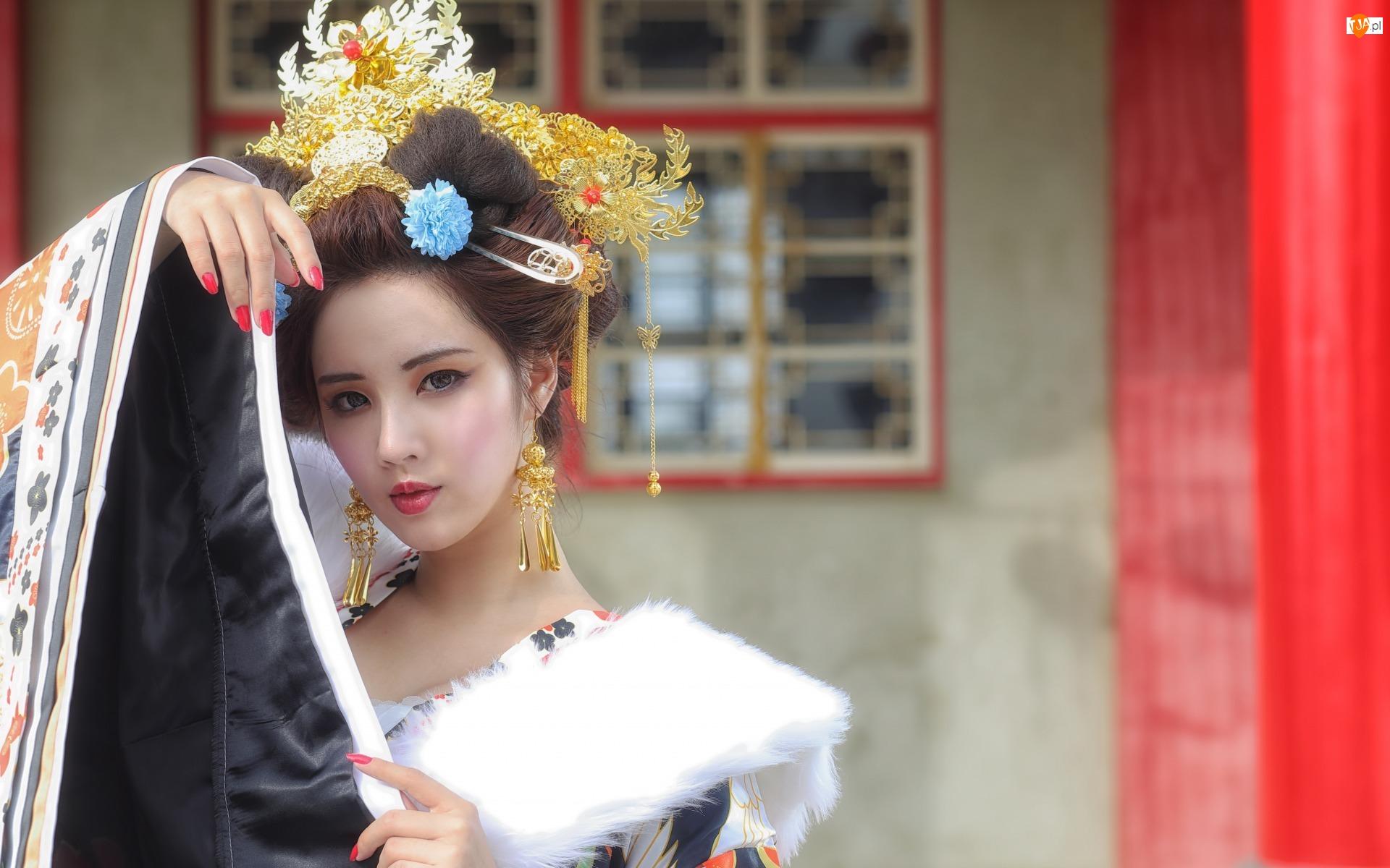 Biżuteria, Kobieta, Azjatka
