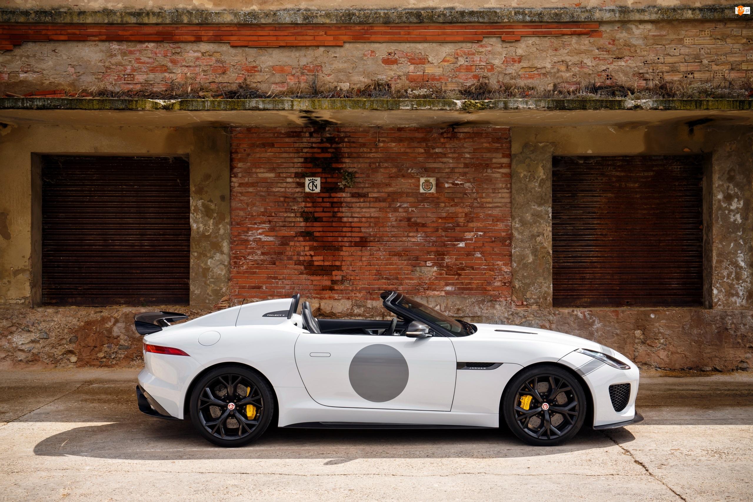 2015-2016, Biały, Jaguar F-Type Project 7
