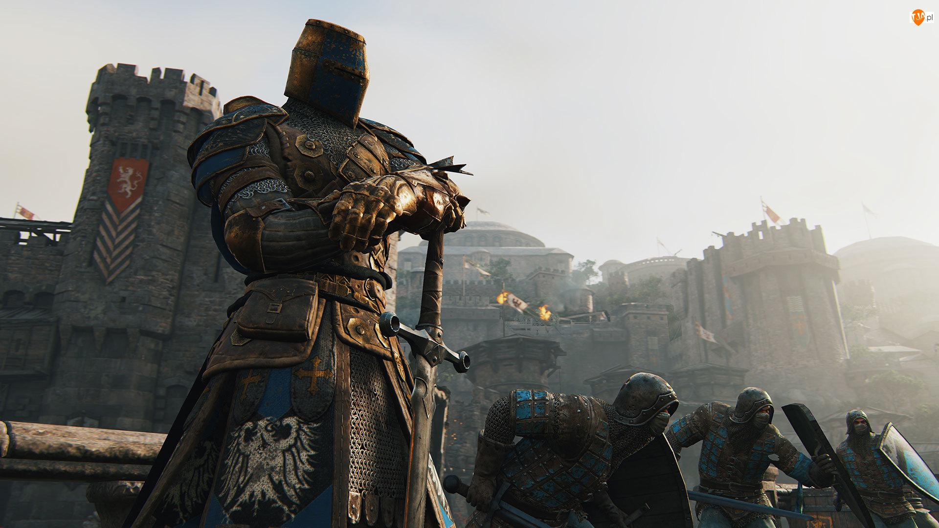 Gra, Rycerz, For Honor, Miecz