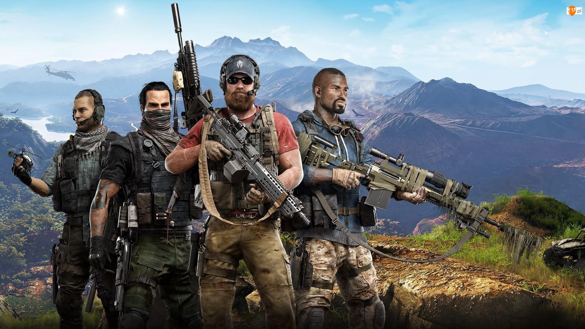 Żołnierze, Gra, Tom Clancys Ghost Recon : Wildlands