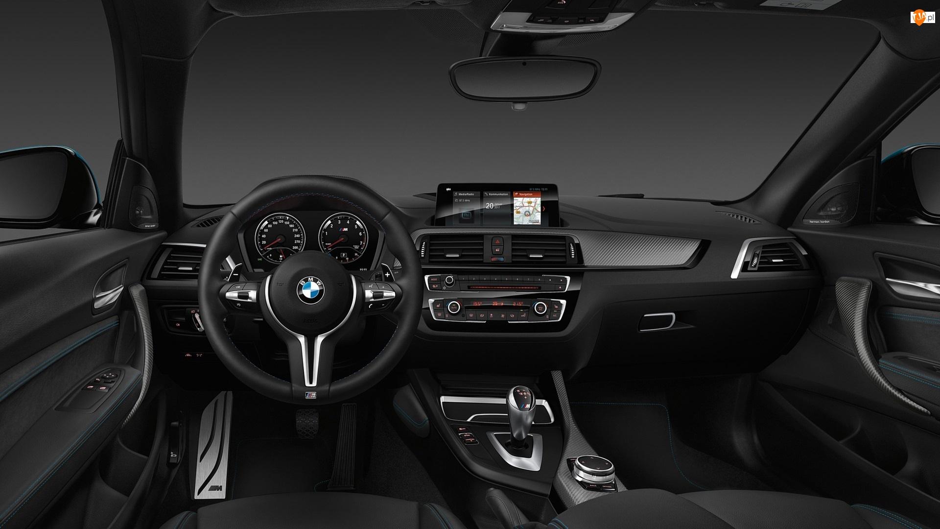 Wnętrze, BMW M2 Coupé, 2018