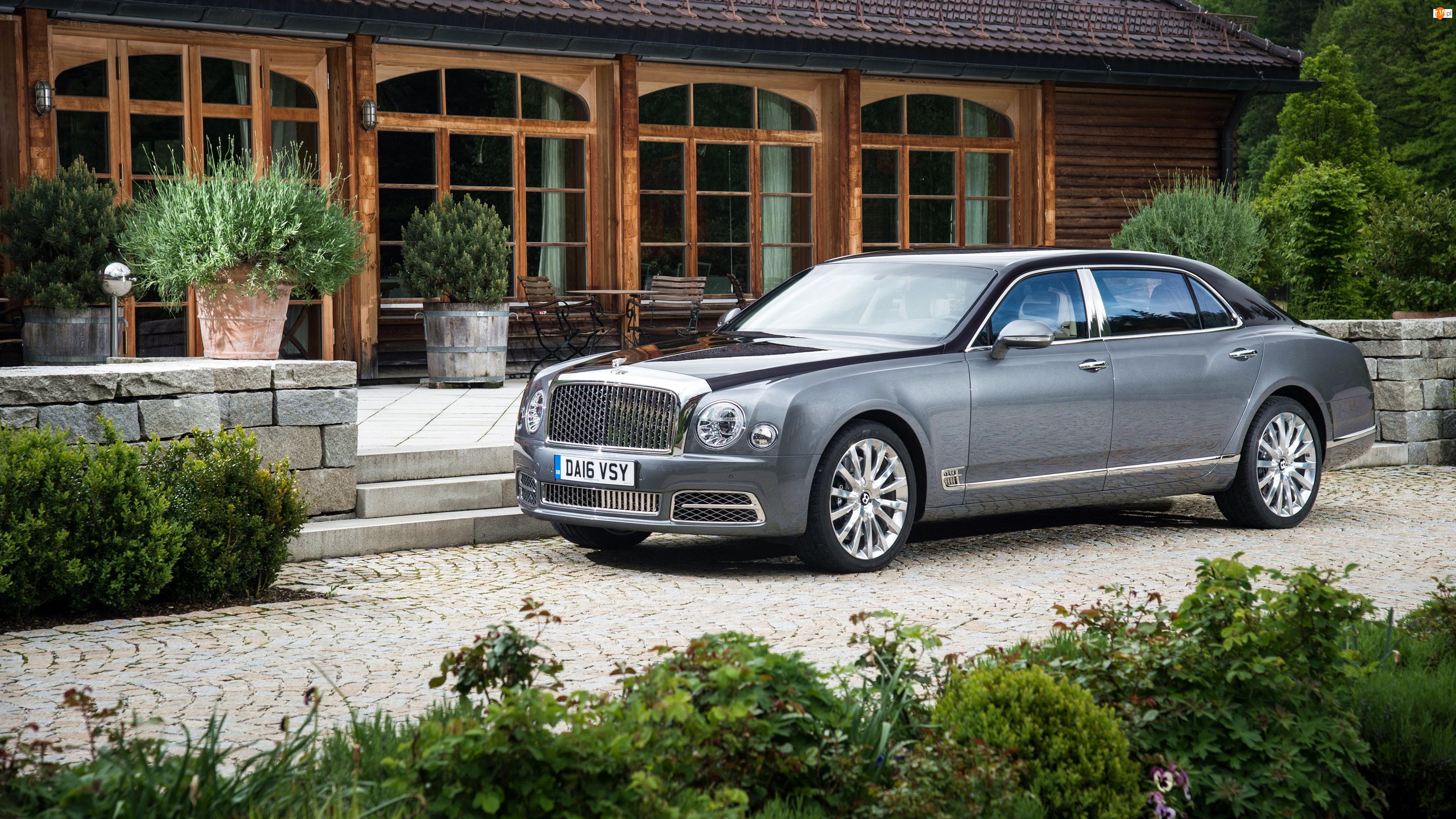 Srebrny, Dom, Bentley Mulsanne Extended Wheelbase, 2017
