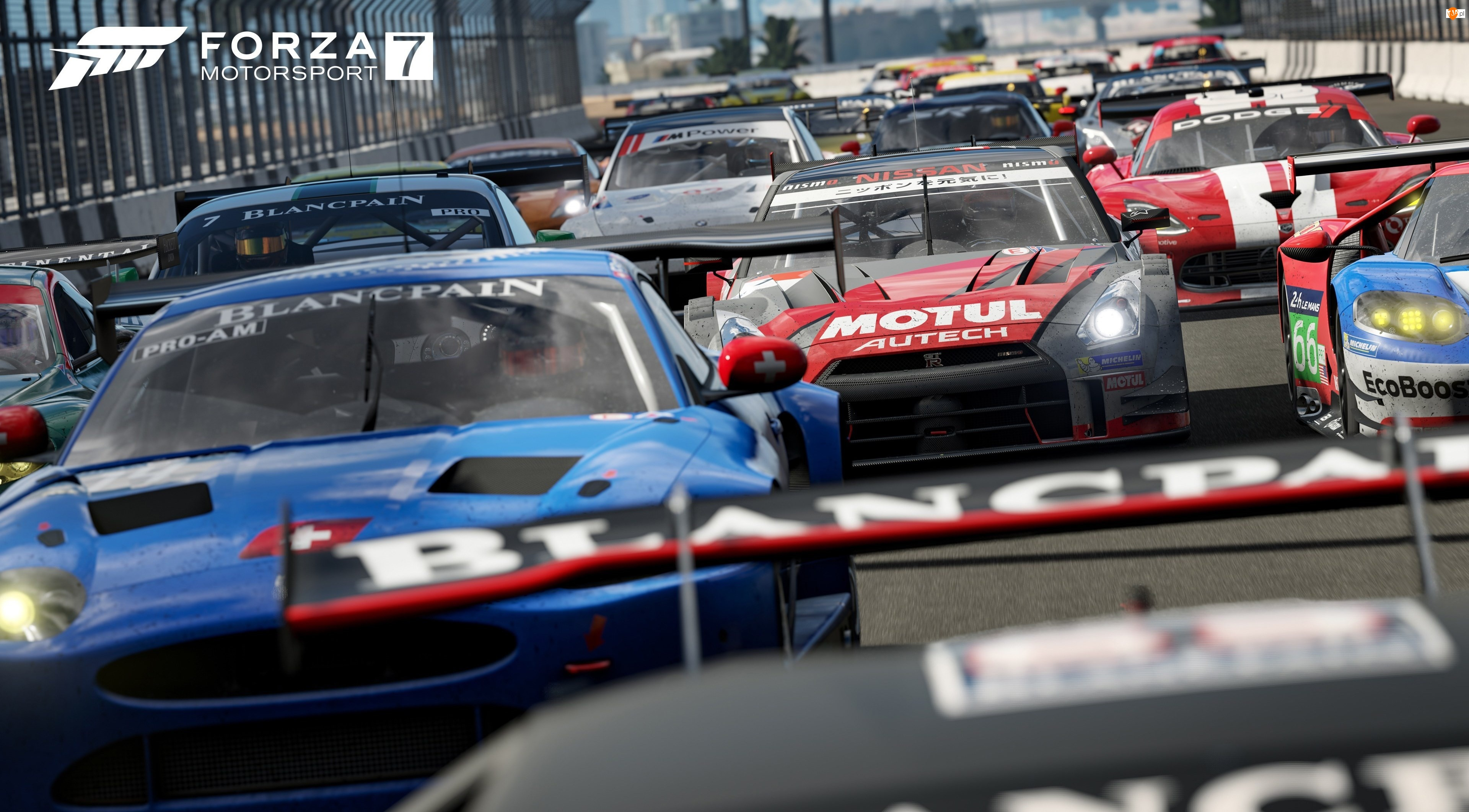 Gra, Samochody, Forza Motorsport 7, Wyścig