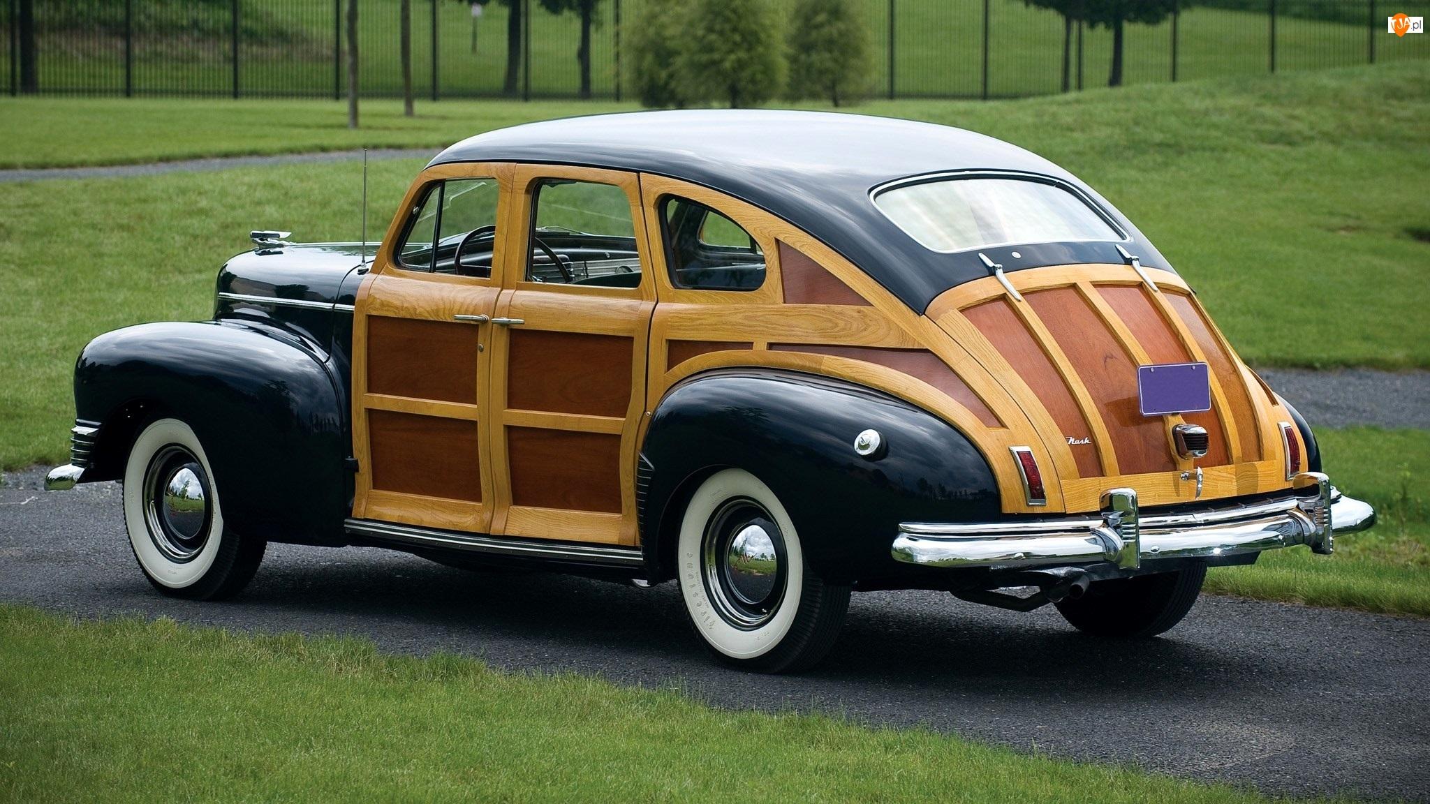 Zabytkowy, 1947, Nash Ambassador, Suburban Sedan