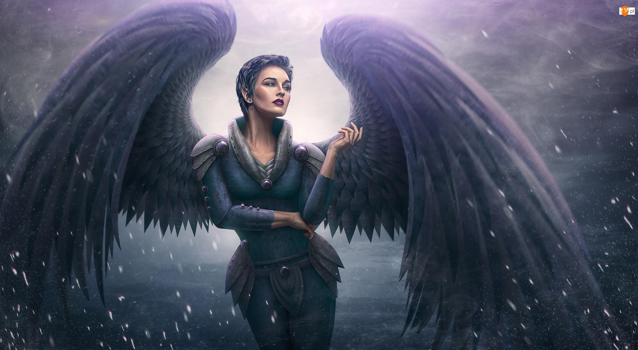 Anioł, Fantasy, Kobieta