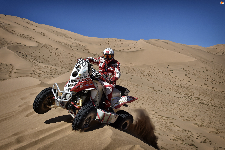 Dakar, Quad Yamaha Raptor 700, Rafał Sonik