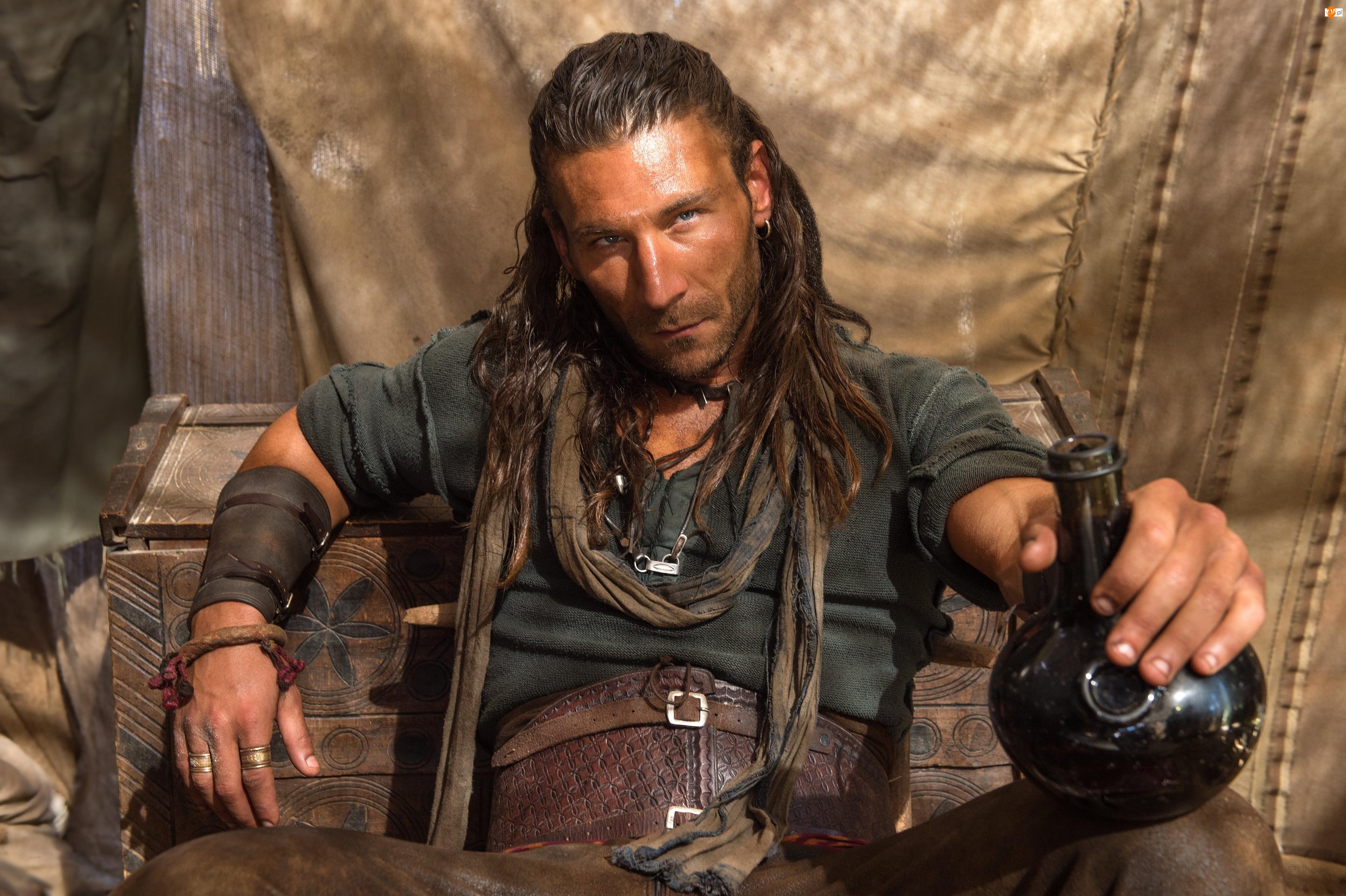 Kapitan Charles Vane, Serial, Piraci, Black Sails, Zach McGowan
