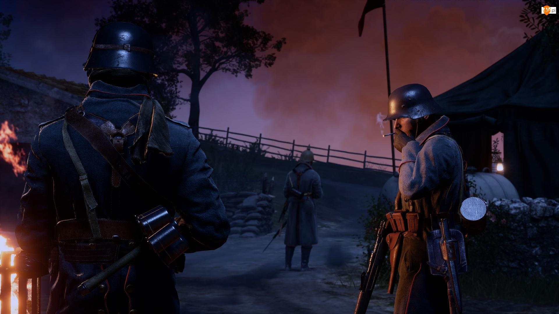 Gra, Warta, Battlefield, Żołnierze