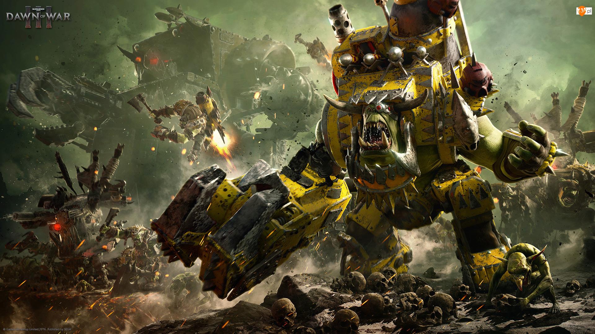 Gra, Ork, Warhammer 40000: Dawn Of War III, Postać