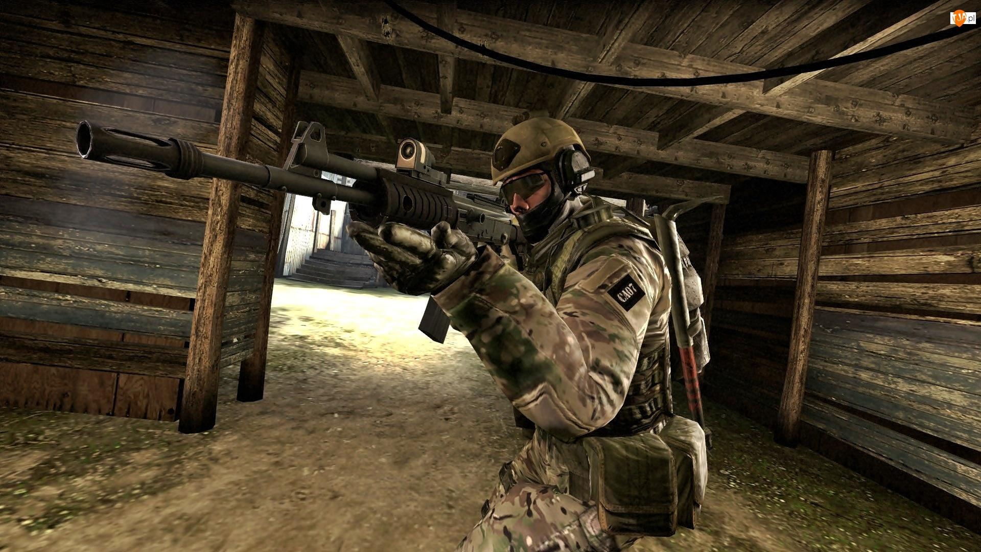 Broń, Counter Strike GO, Żołnierz