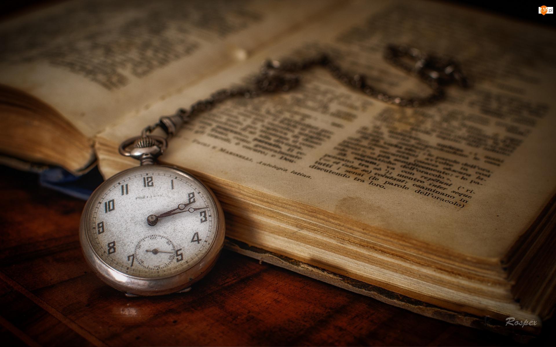 Książka, Kieszonkowy, Zegarek