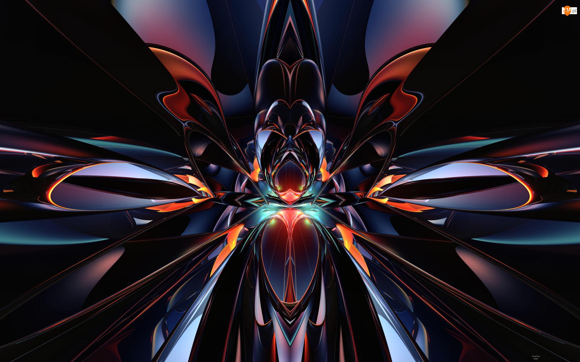 Abstrakcja, Grafika 3D
