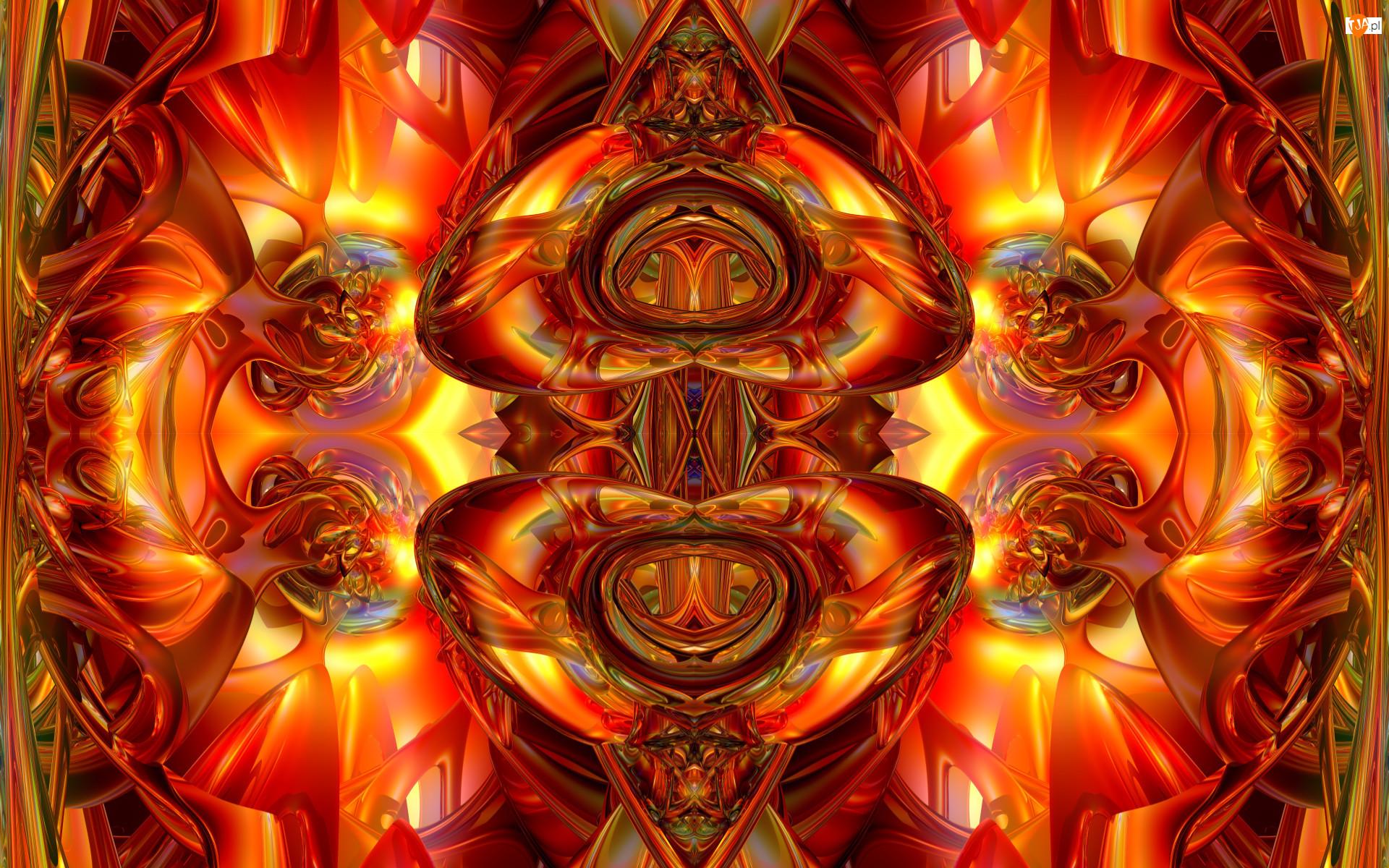 Wzory, Grafika 3D, Abstrakcja