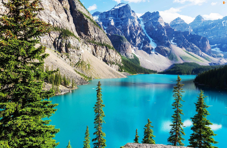 Góry, Kanada, Jezioro Louise, Park Narodowy Banff