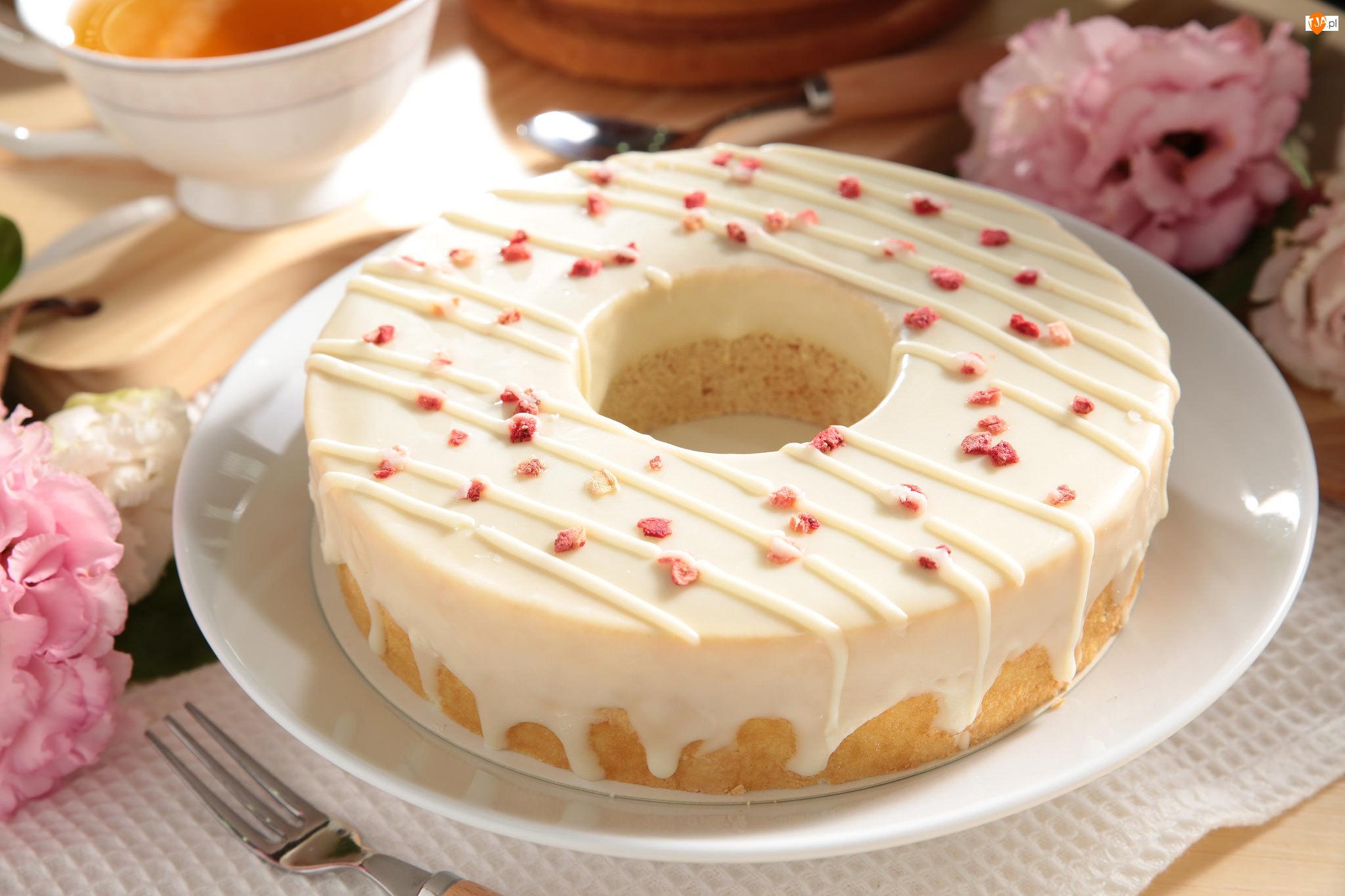 Ciasto, Lukier