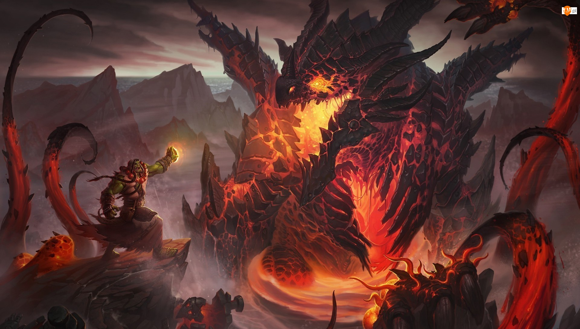 Deathwing, Gra, Postacie, World of Warcraft: Cataclysm, Thrall