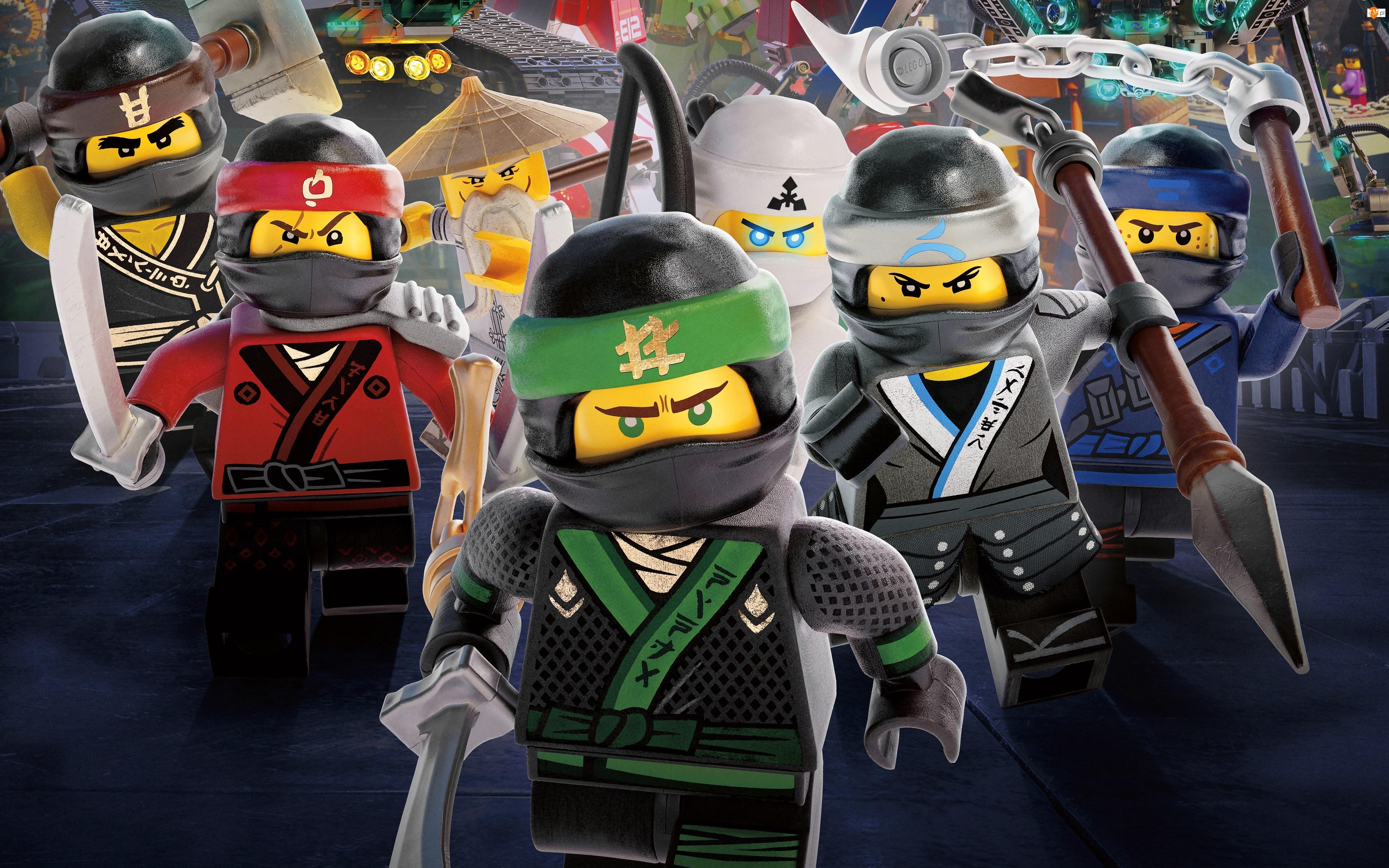 Plakat, LEGO Ninjago: Film, The LEGO Ninjago: Movie