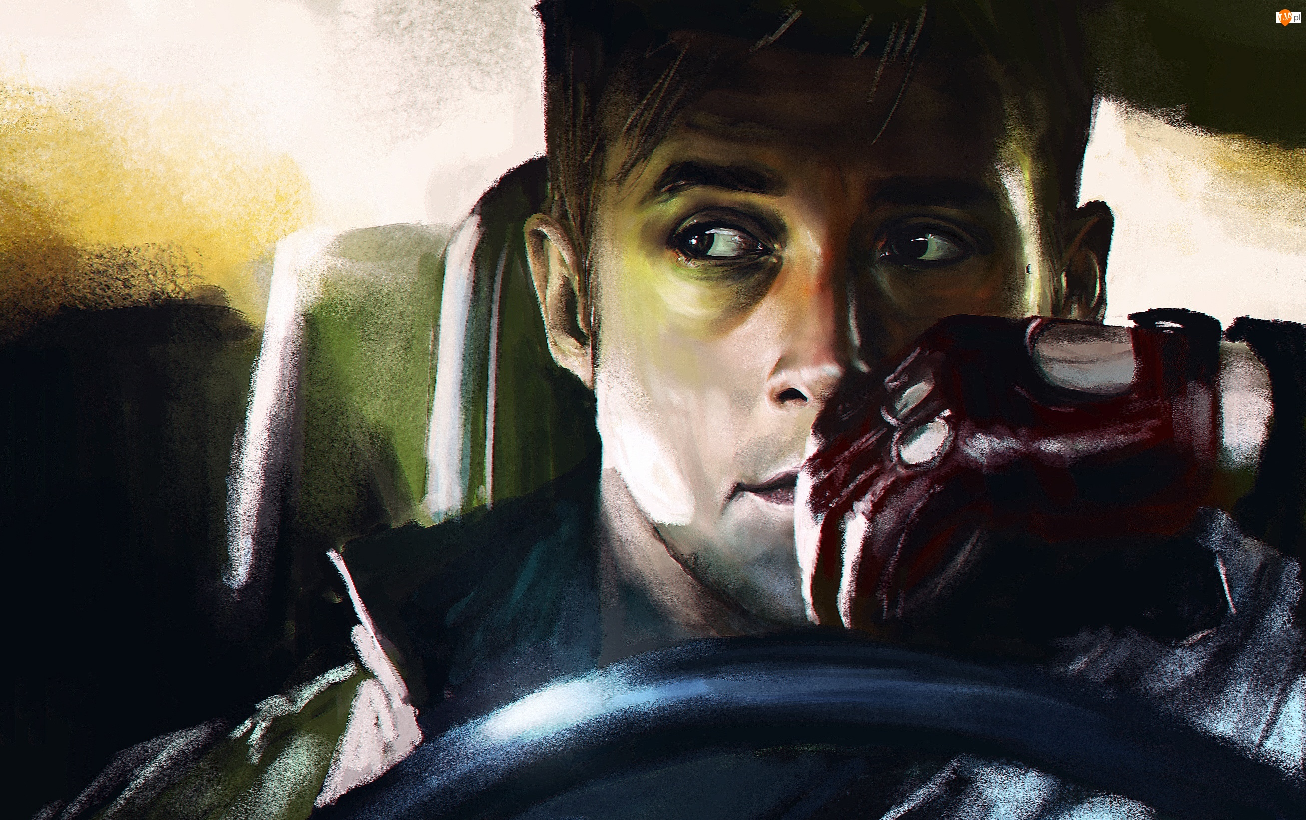 Grafika, Drive, Ryan Gosling, Film