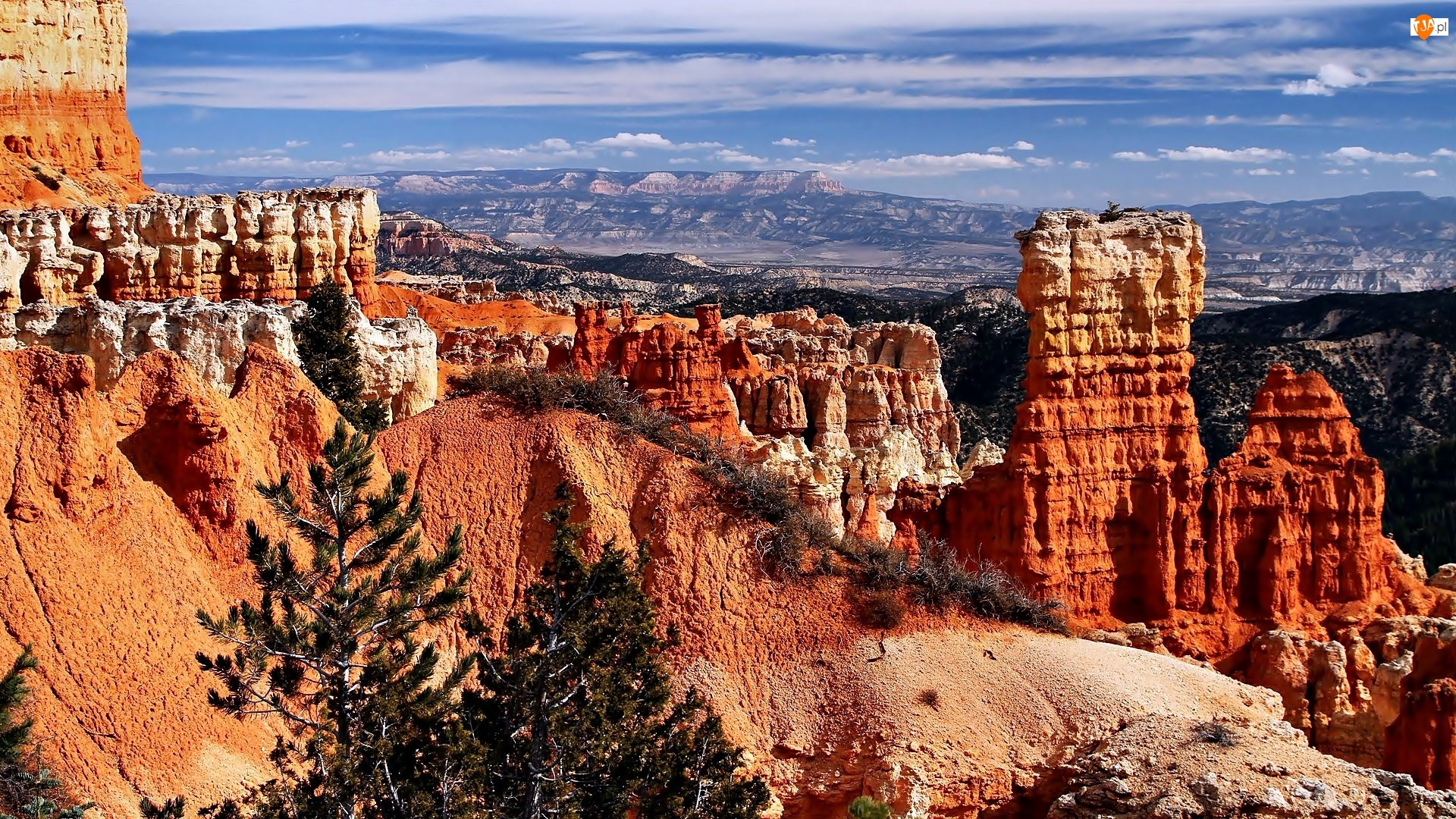 Stany Zjednoczone, Kanion, Stan Utah, Park Narodowy Bryce Canyon