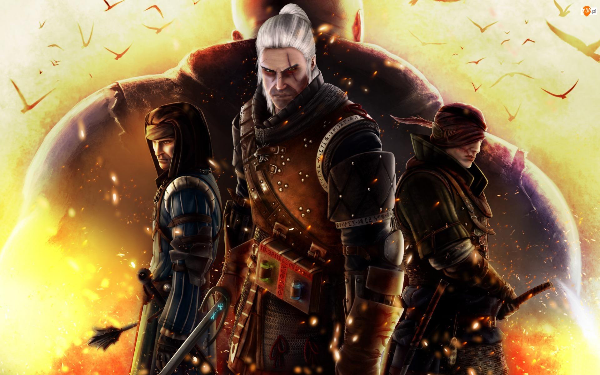 Wiedźmin 2 : Zabójcy królów, Iorveth, Vernon Roche, Geralt z Rivii