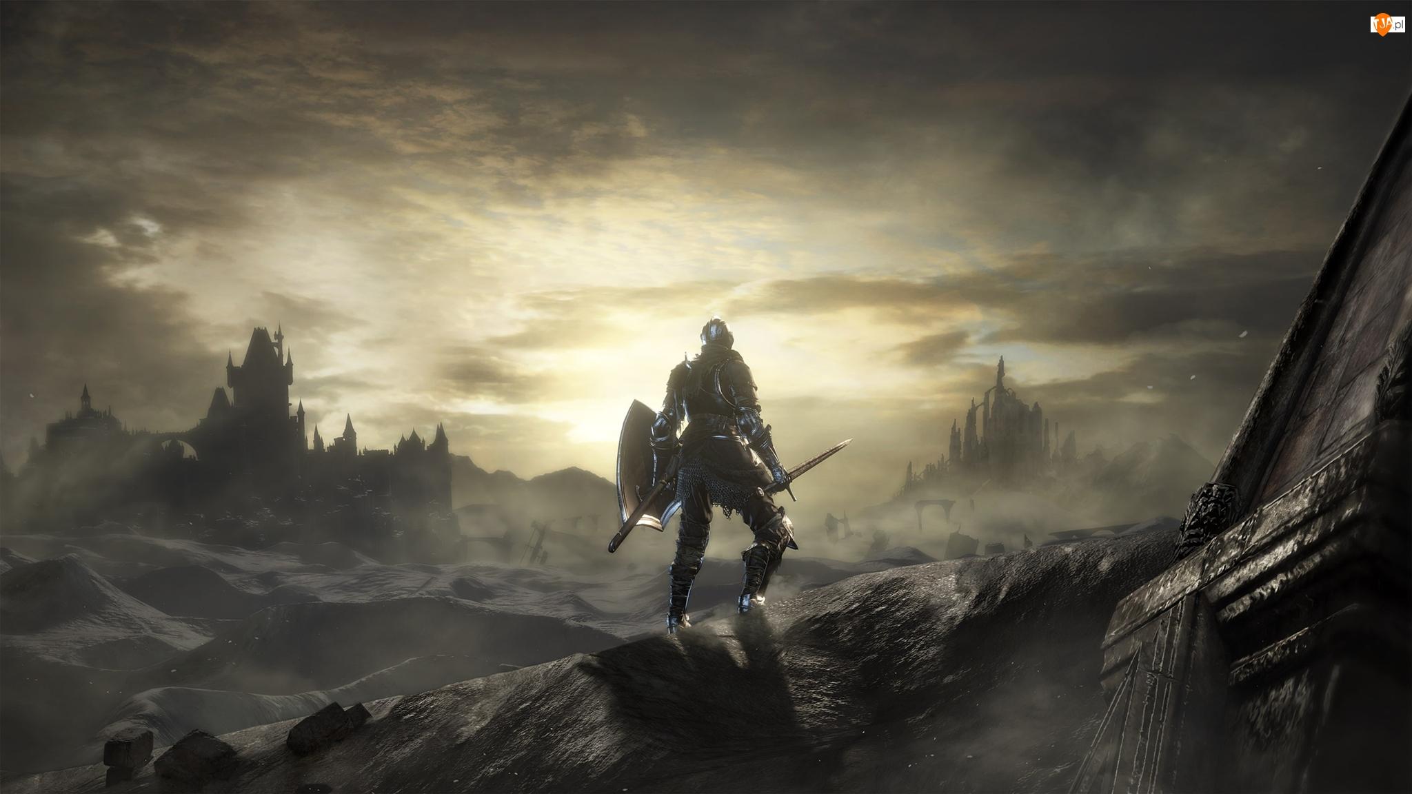 Ruiny, Dark Souls 3, Rycerz