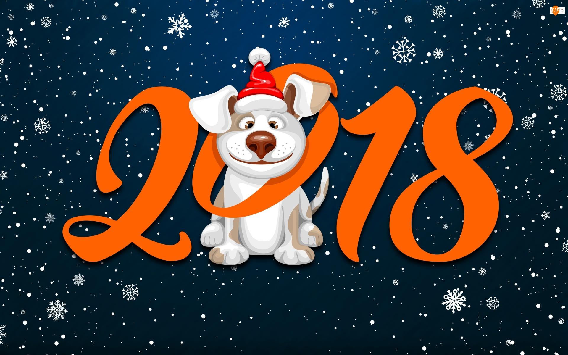Znalezione obrazy dla zapytania kartki noworoczne 2018