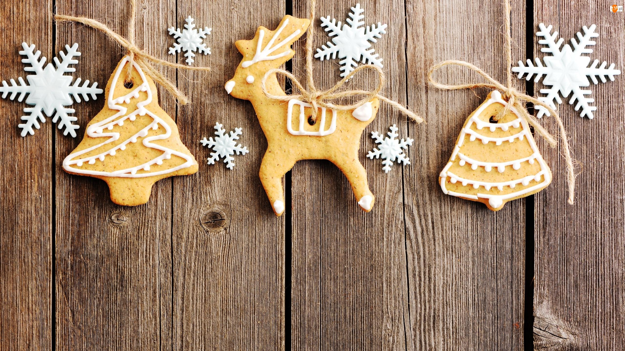 Świąteczne, Ciasteczka, Śnieżki