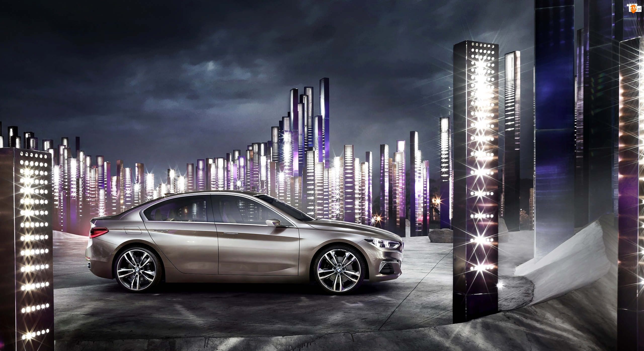 2015, BMW Compact Sedan, Concept
