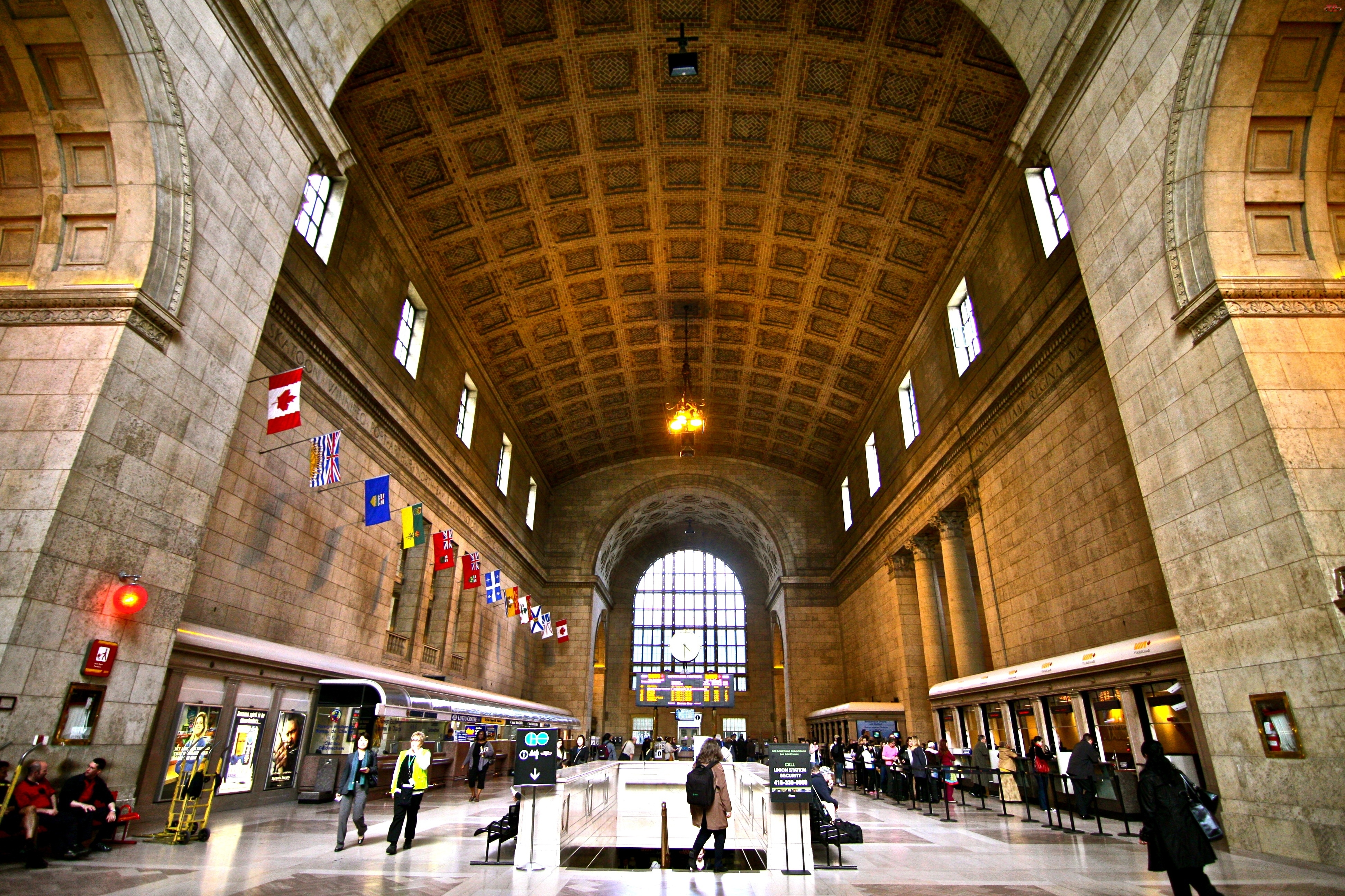 Kanada, Union Station, Great Hall
