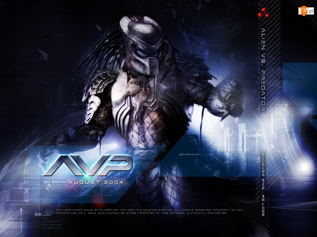 zbroja, Alien Vs Predator 1, stwór