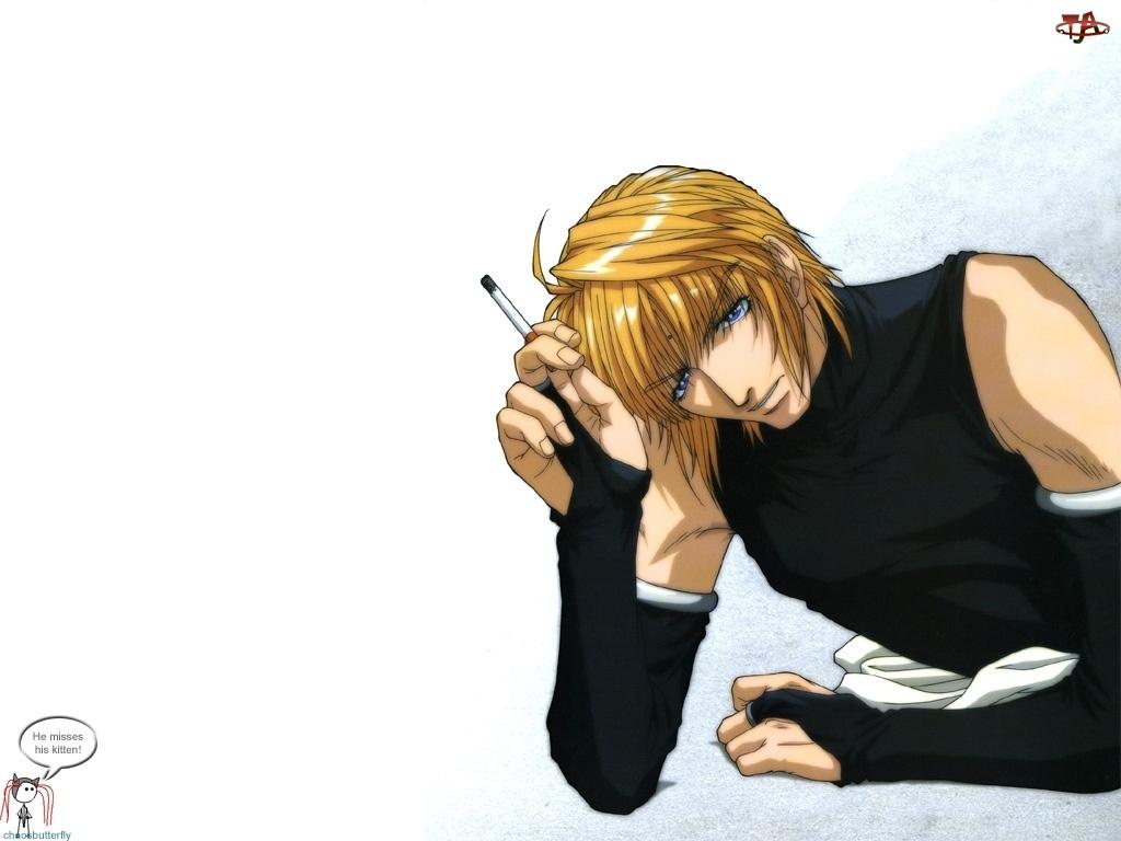 papieros, Saiyuki, postać