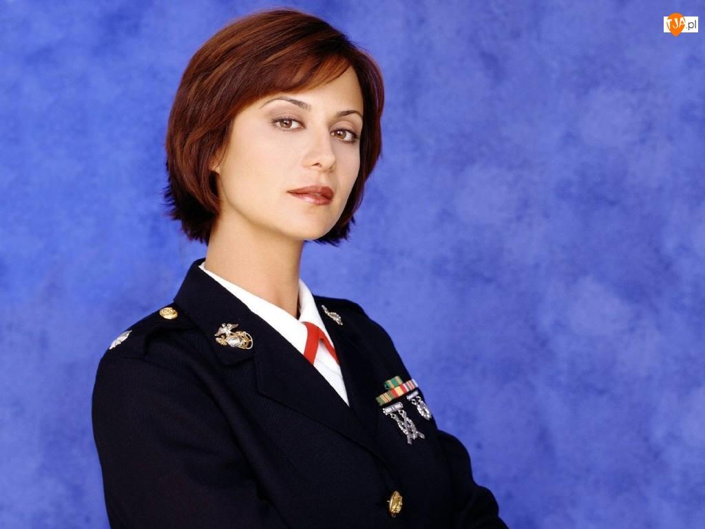 uniform, Catherine Bell, granatowy