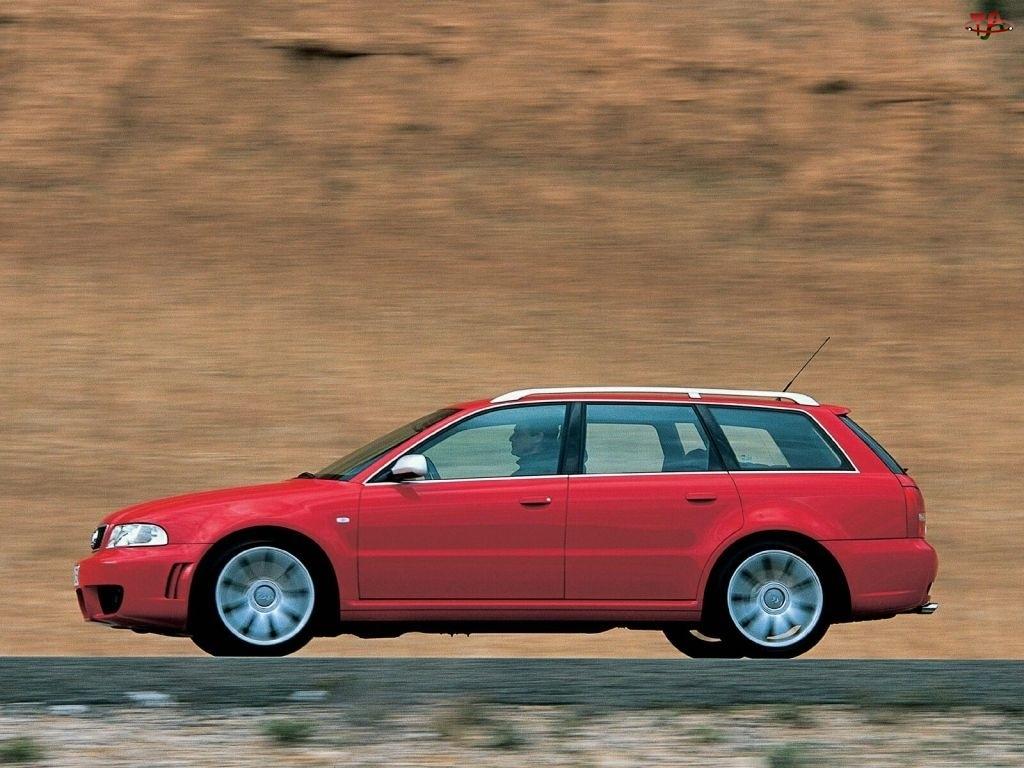 Avant, Czerwone, Audi RS4