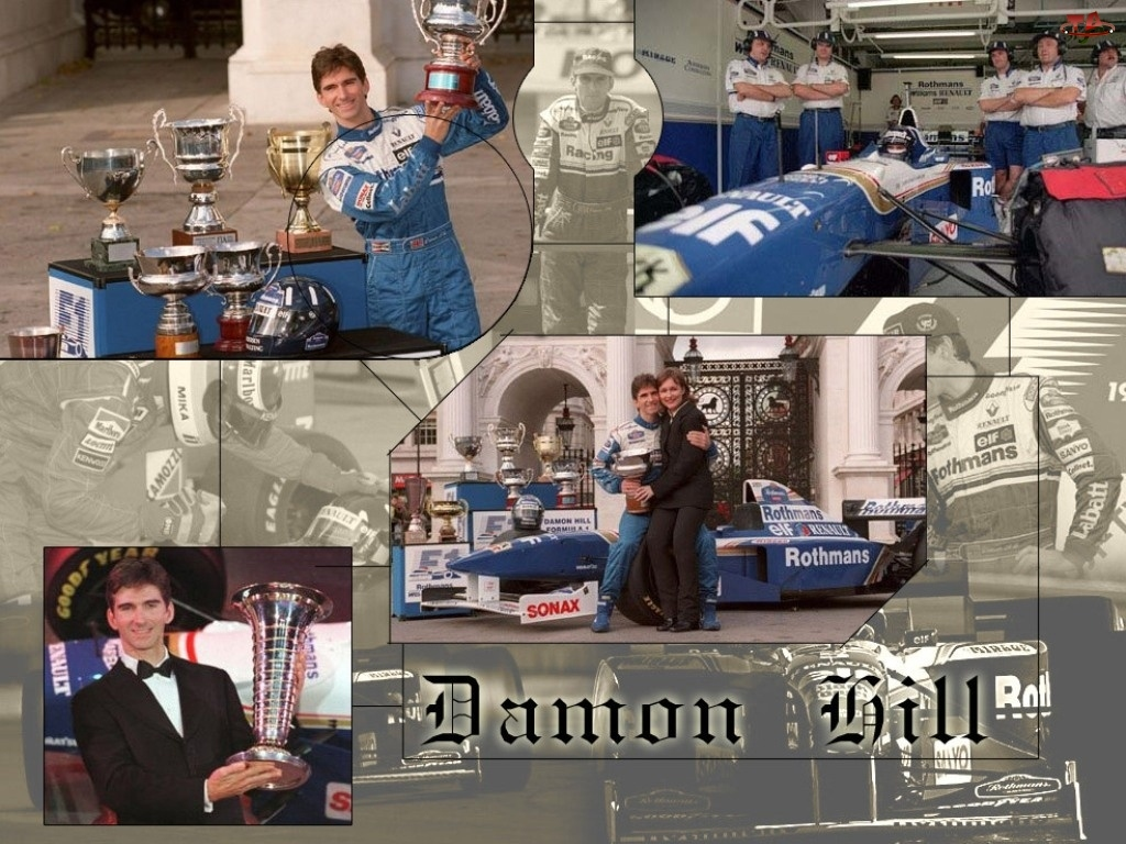 puchary, Formuła 1, Damon Bill