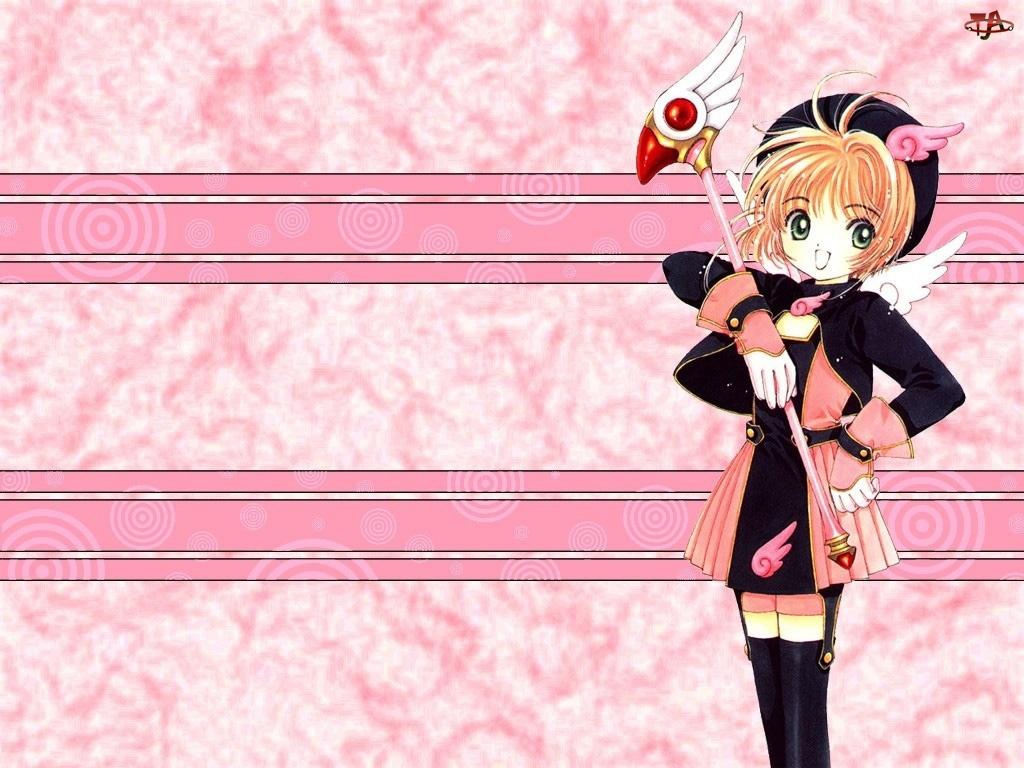 Cardcaptor Sakura, dziewczyna, kij
