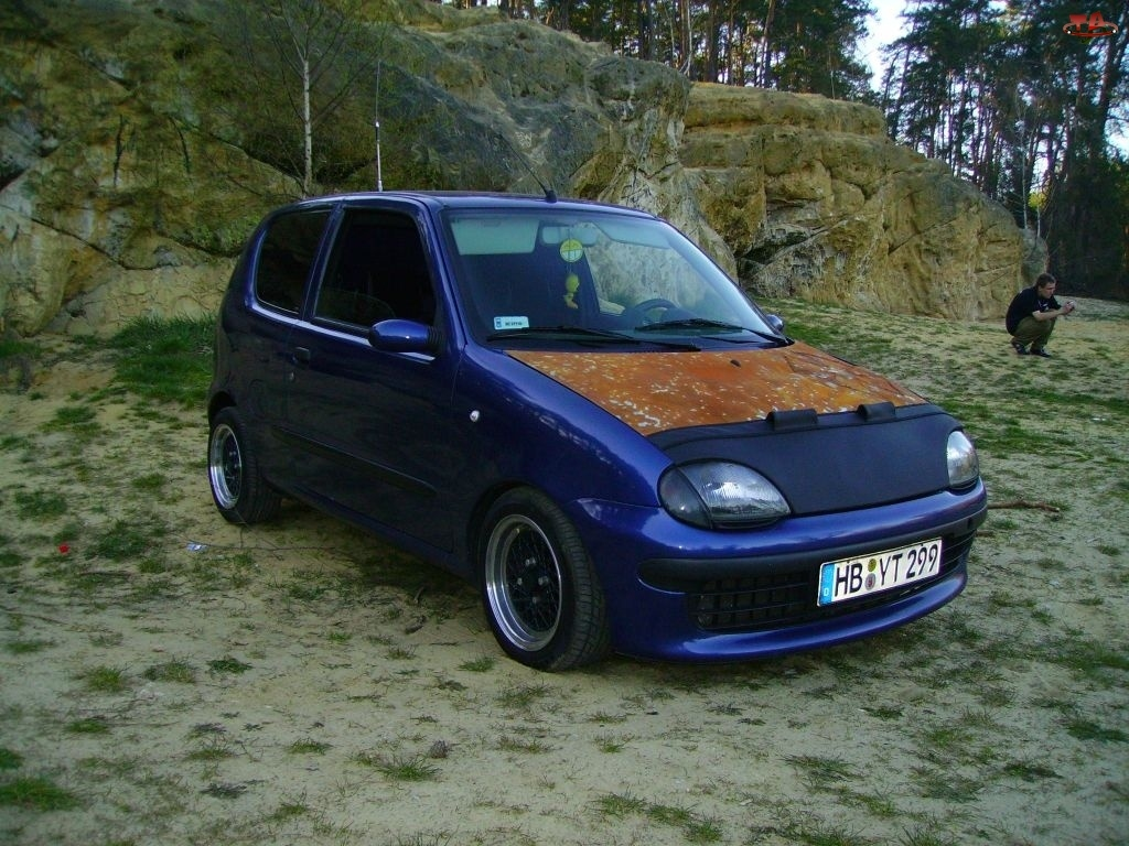 Fiat Seicento, Rost