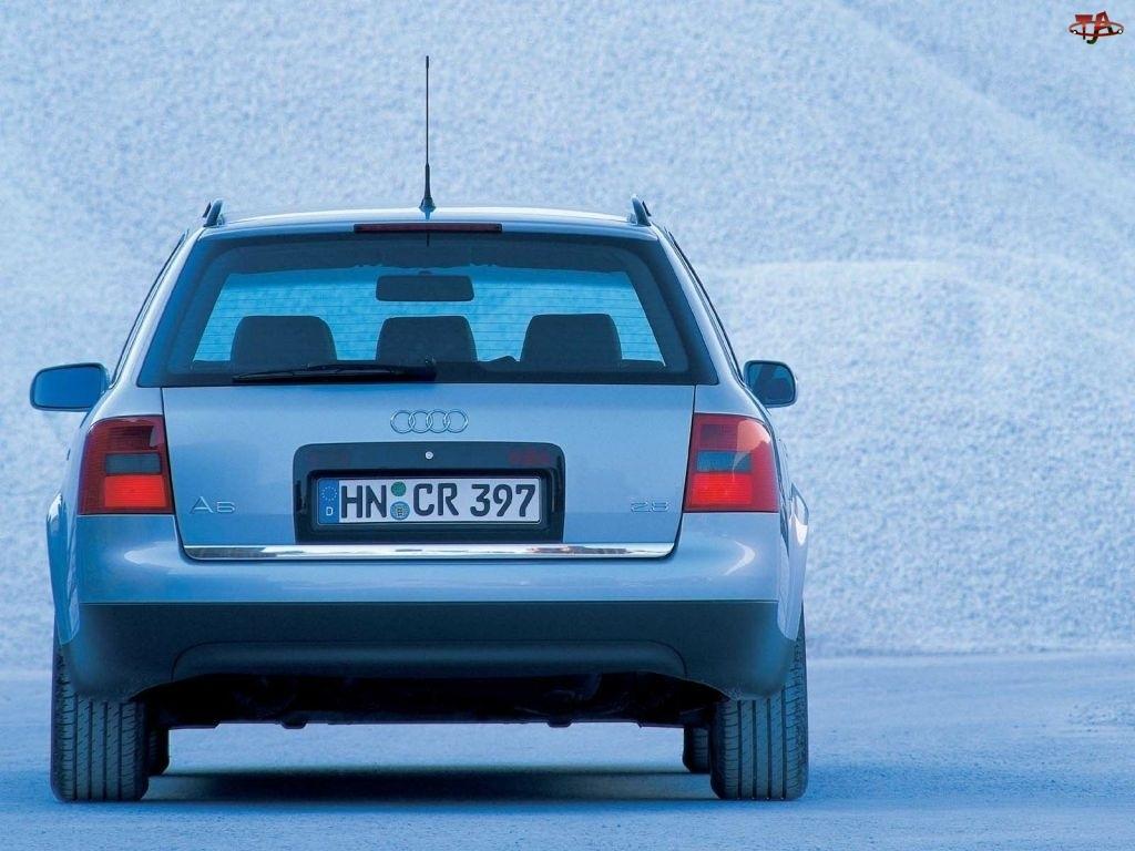 Tył, Audi A6